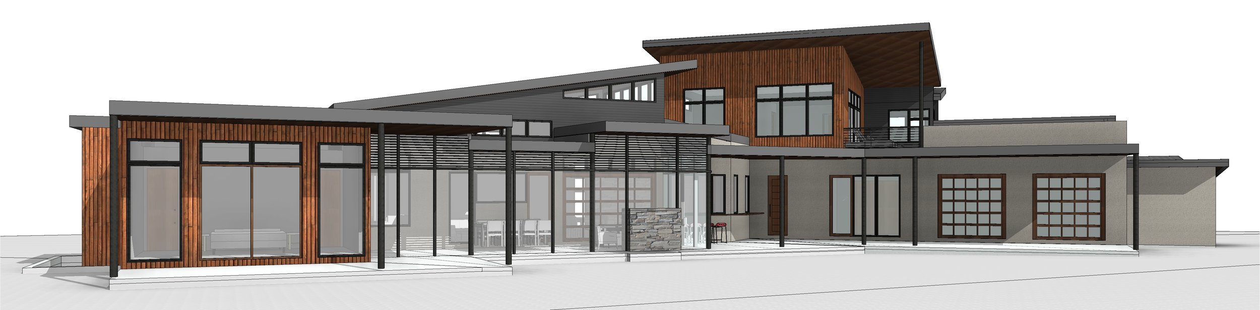 Schreiber Residence - Material Studies 3 - 3D View - REAR PERSPECTIVE 1.jpg