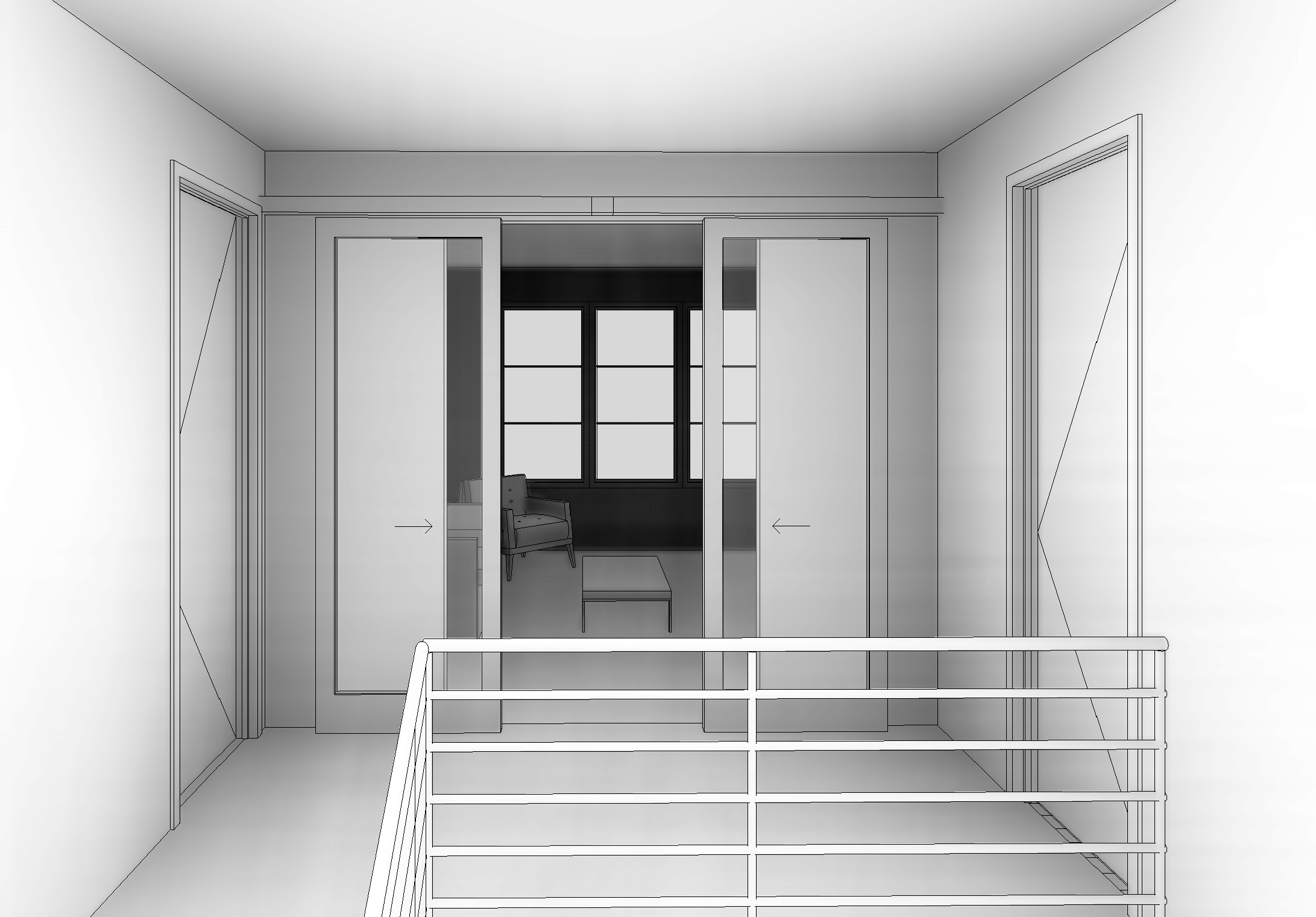 Smoot10 - 3D View - BEDROOM 1 FROM STAIR.jpg