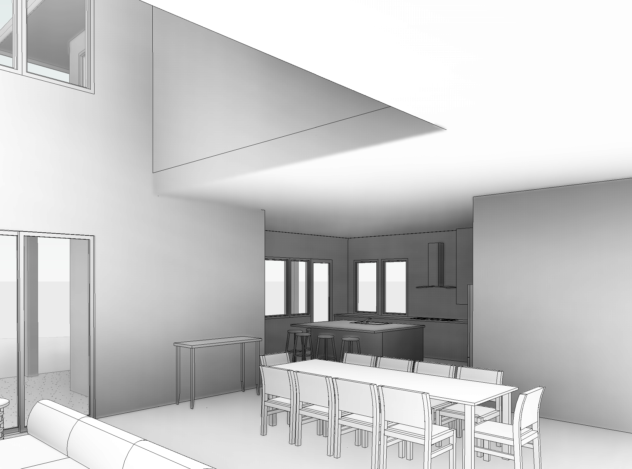Ravulapati Residence3 - 3D View - TO KITCHEN.jpg