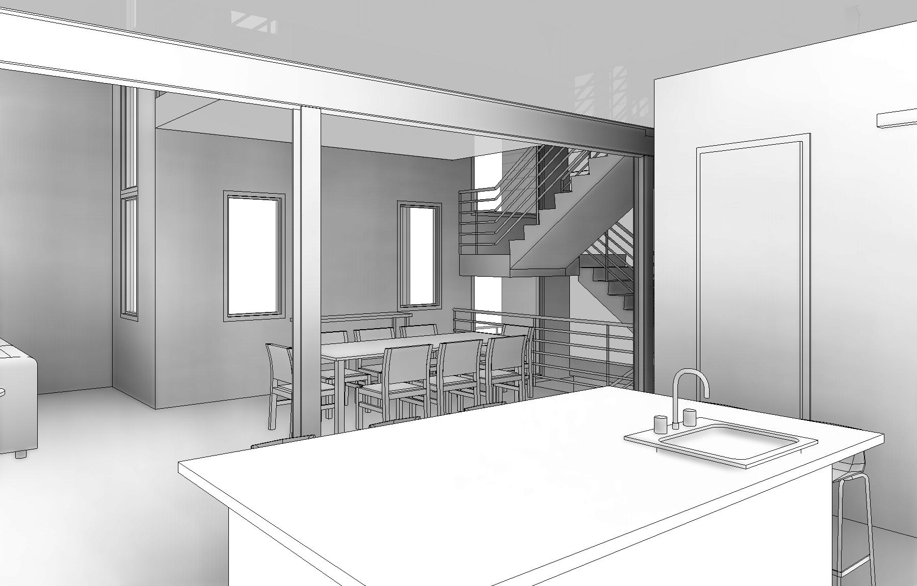 W Grange Lot 1-4 - 3D View - FROM KITCHEN.jpg