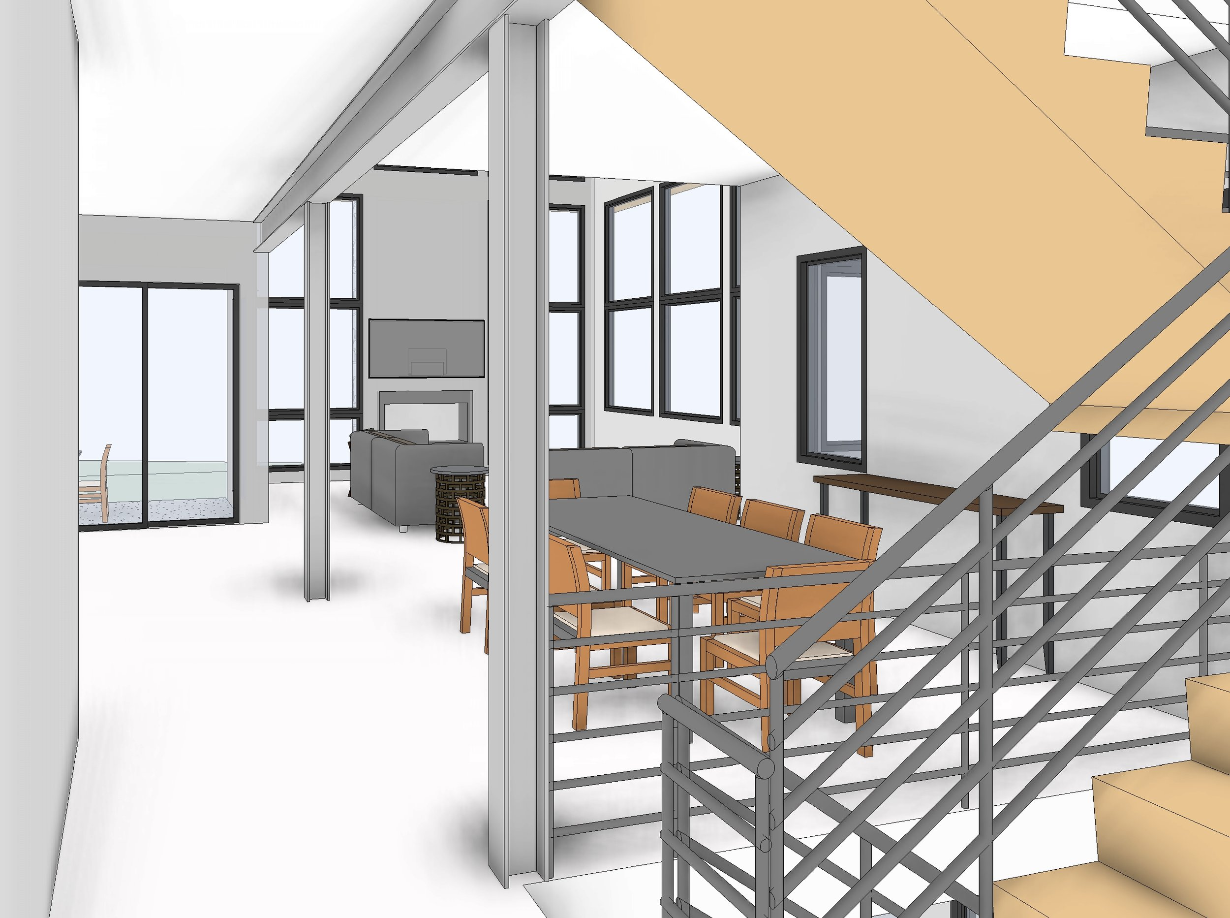 W Grange Lot 1-4 - 3D View - FROM STAIR.jpg