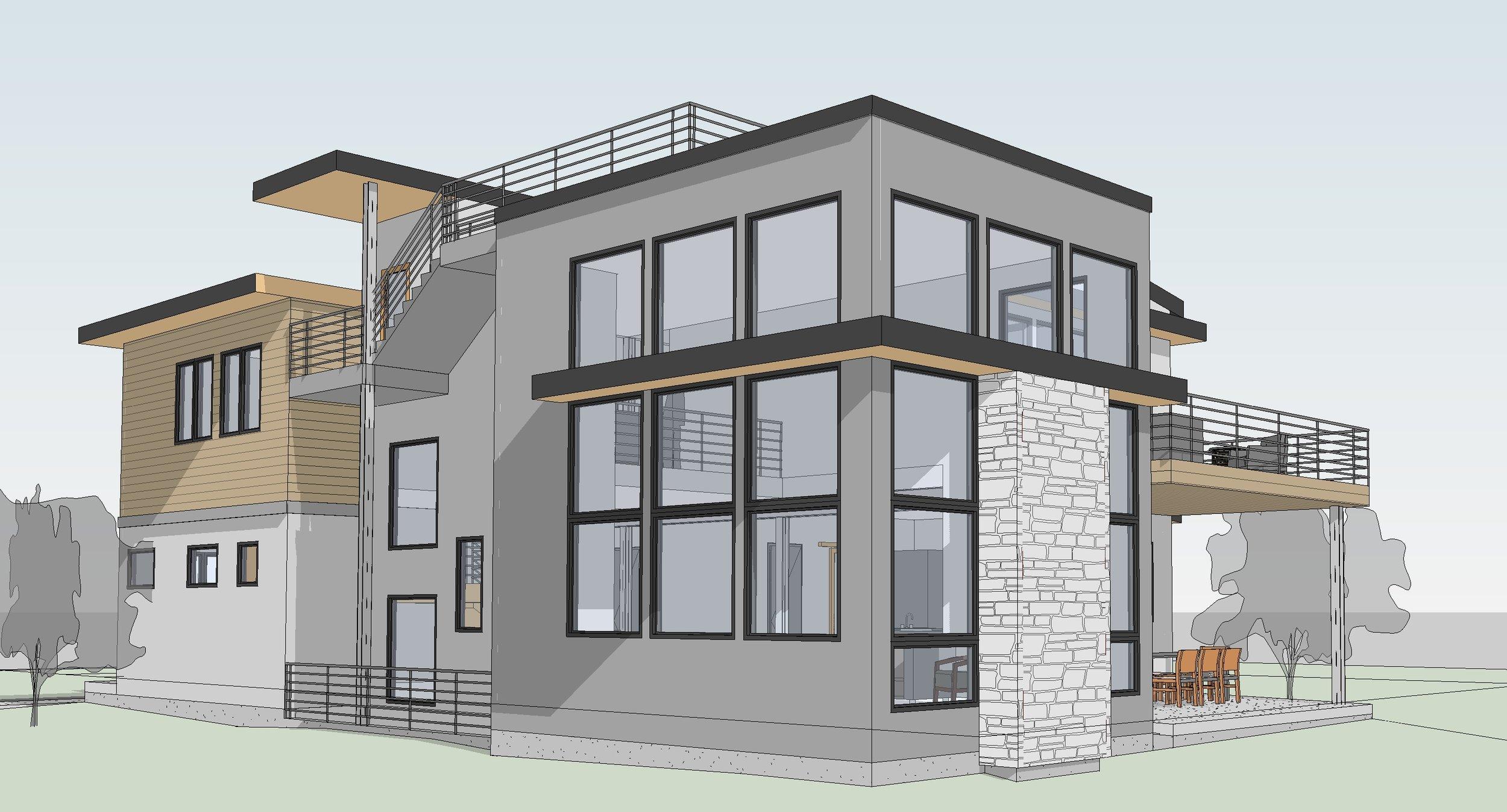 W Grange Lot 1-4 - 3D View - REAR DECKS.jpg