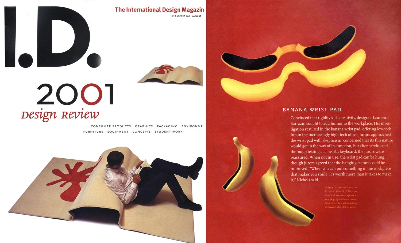 ID Magazine –  2001 Design Review,  2001