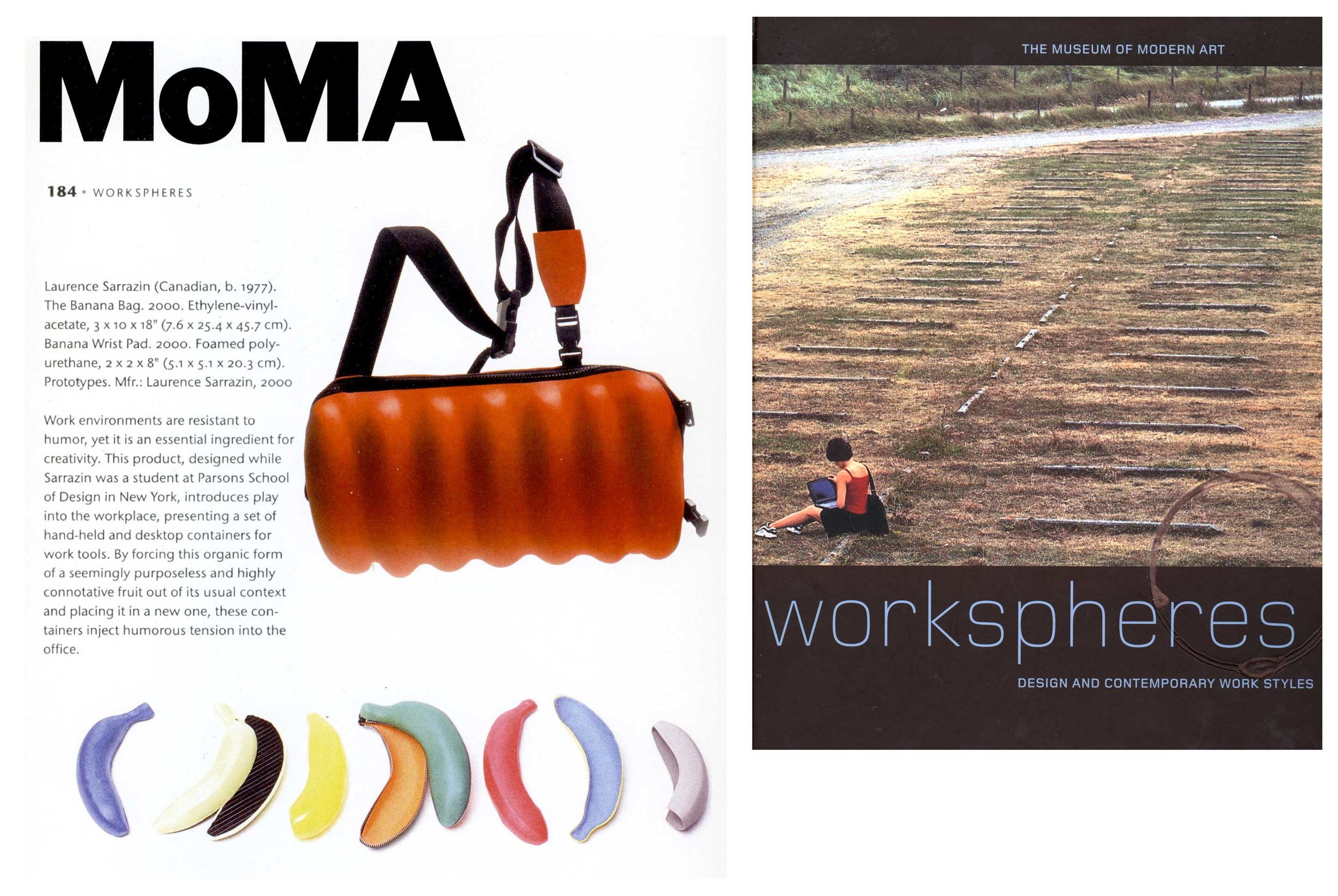 BFA thesis project featured in  Workspheres exhibition – Museum of Modern Art.New York, NY, 2001