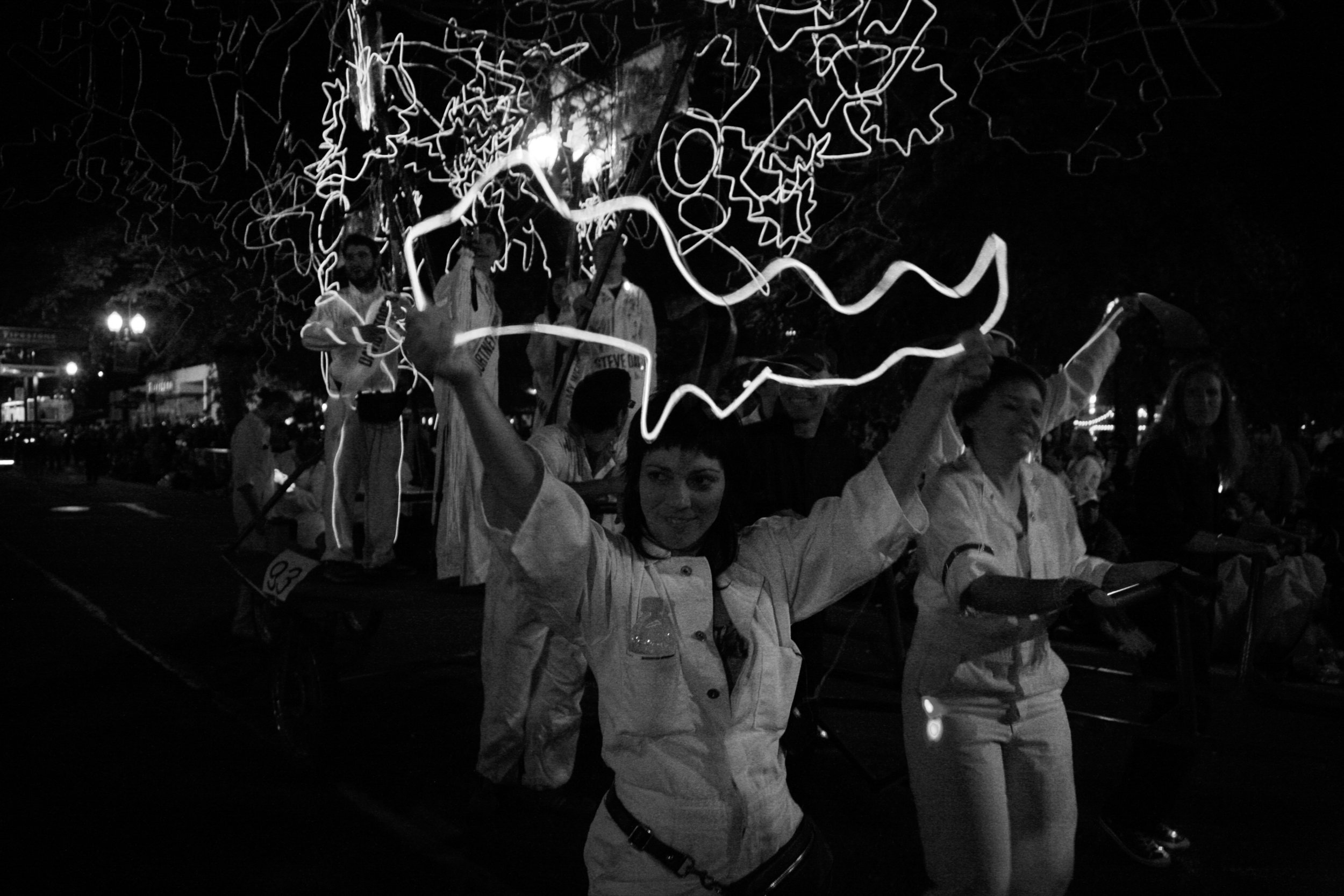 Core77  –  Hand-Eye Supply's *The Creative Spark* Team Lights up the Starlight , 2011
