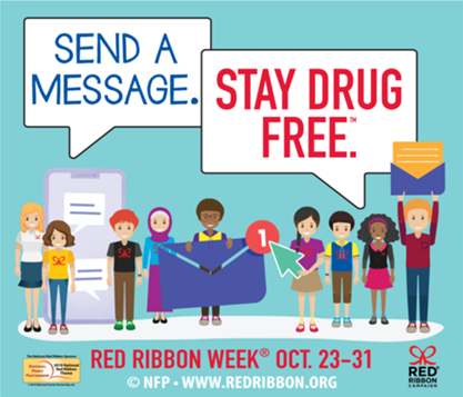 More Information about Red Ribbon Week 2019 here!