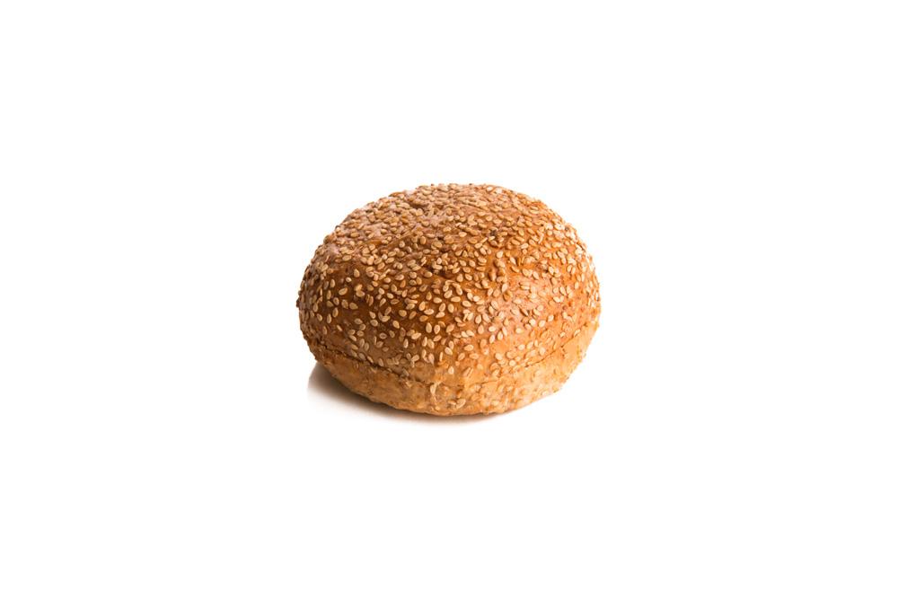 Whole Wheat Bun with Sesame