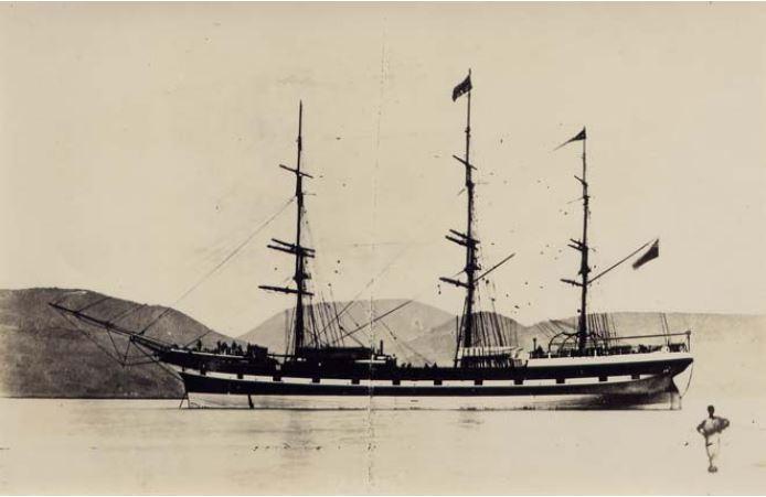 Le Rakaia à Port Chalmers (Museum of Wellington City and Sea)