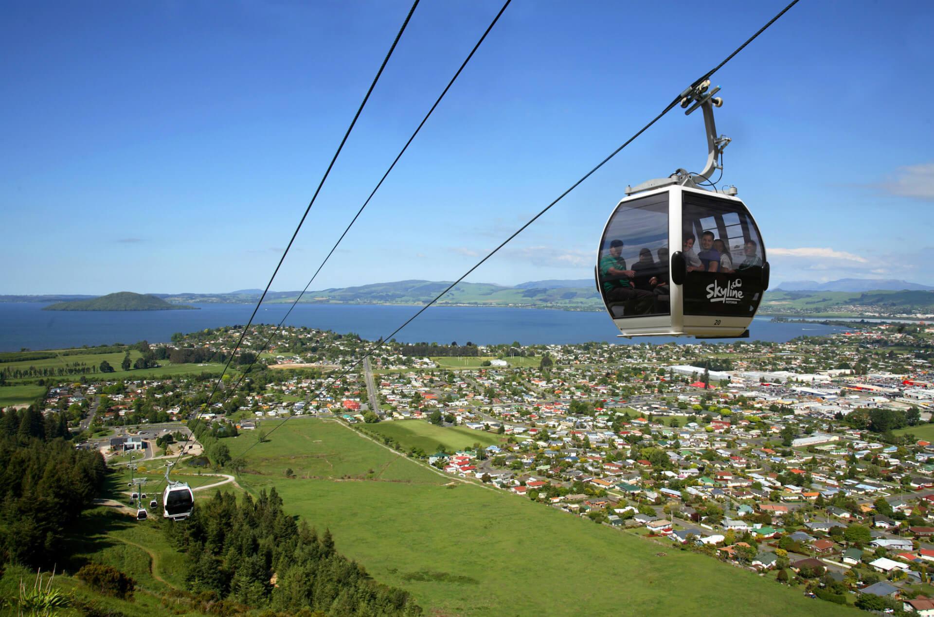 © Skyline Rotorua