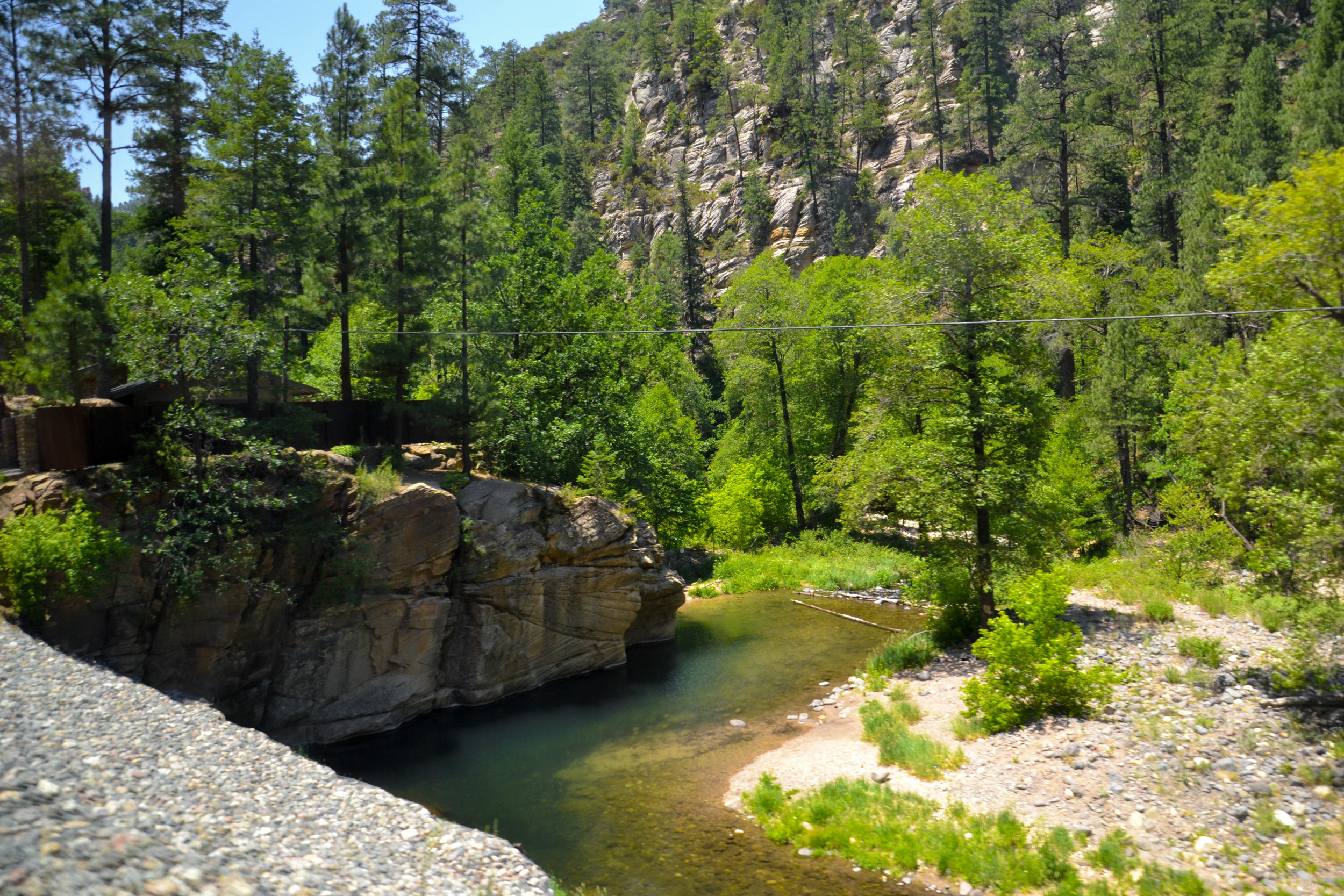 Oak Creek Canyon - On your way to Sedona, make sure you take the scenic route through the Oak Creek Canyon. The vistas offered are breathtaking - the swirling backcountry roads are worth it!