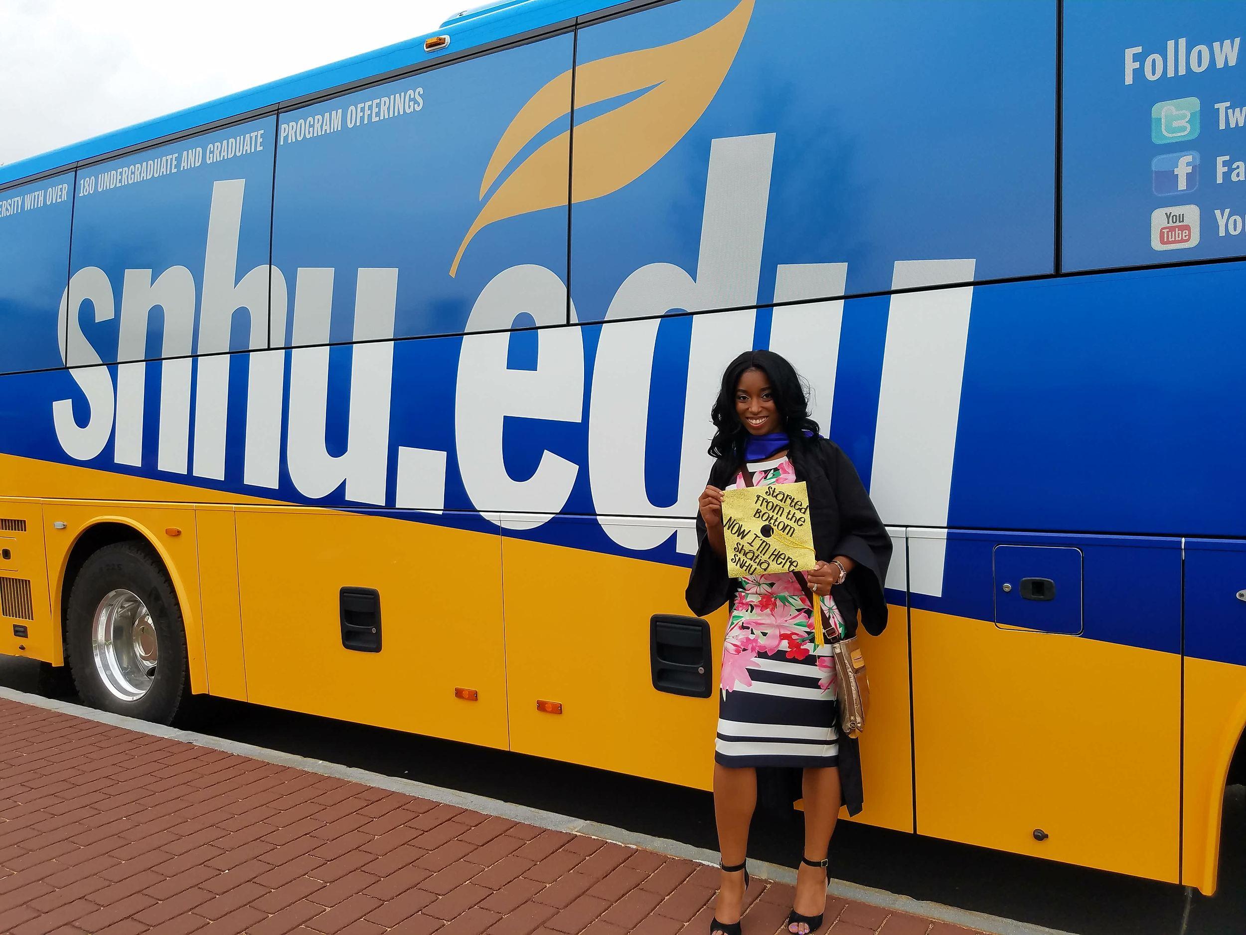 The SNHU Bus!