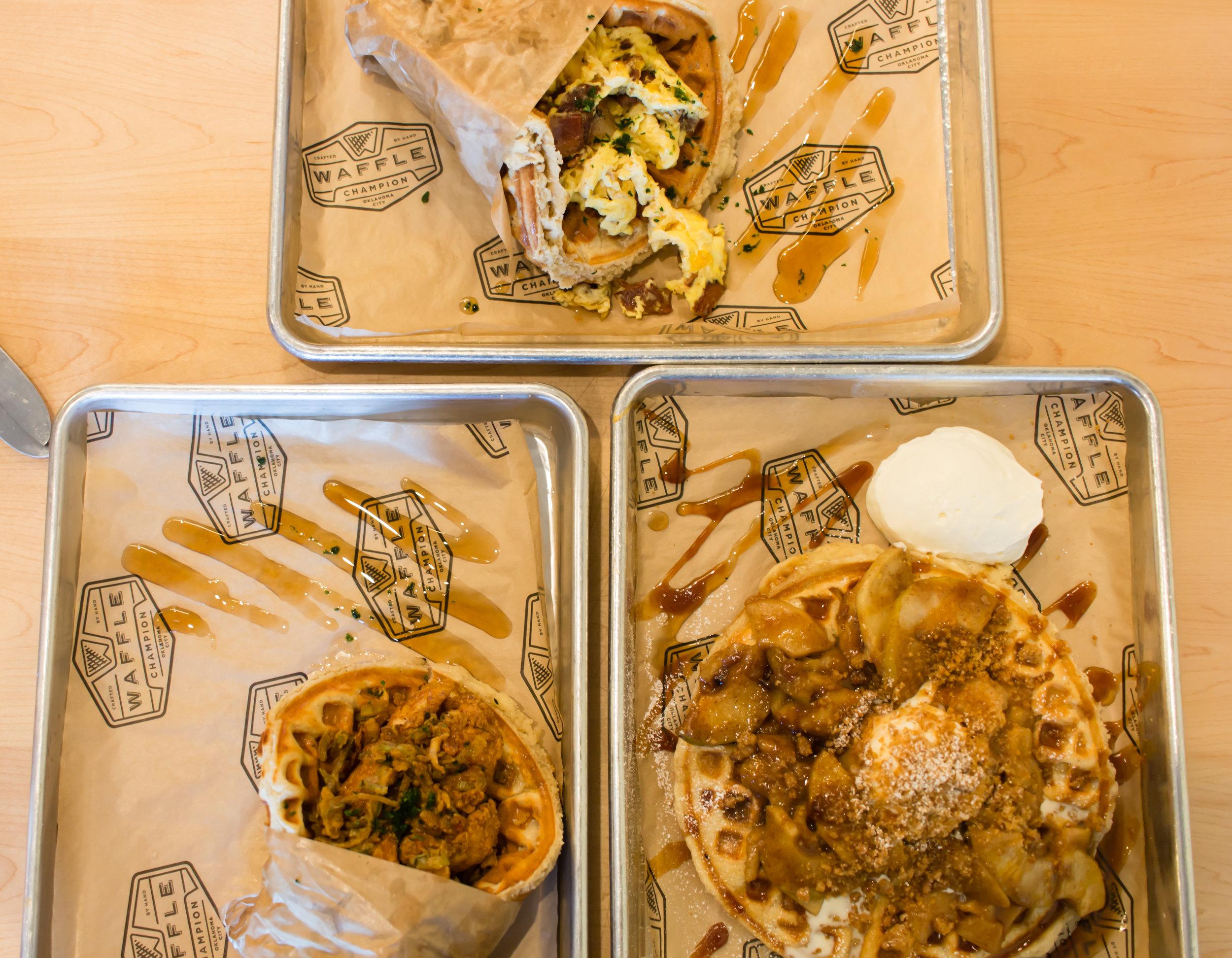 Waffles on Fleek!