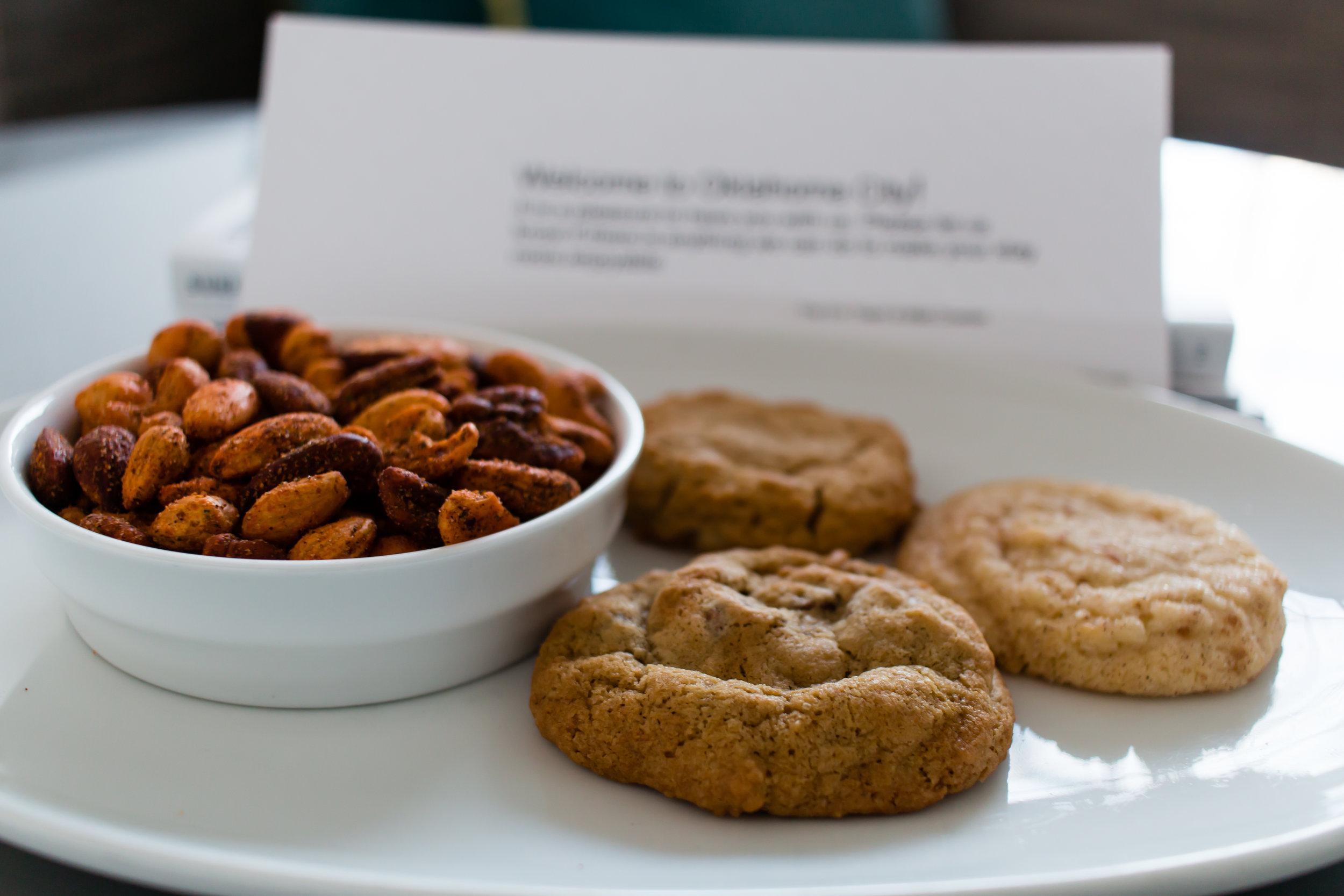 cookies-room-treats-21c-museum-hotel