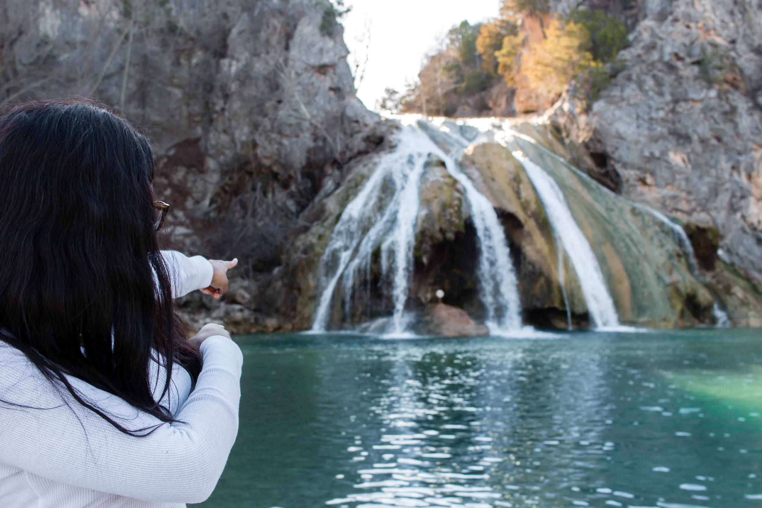 Edited Shasha pointing at Turner Falls.jpg