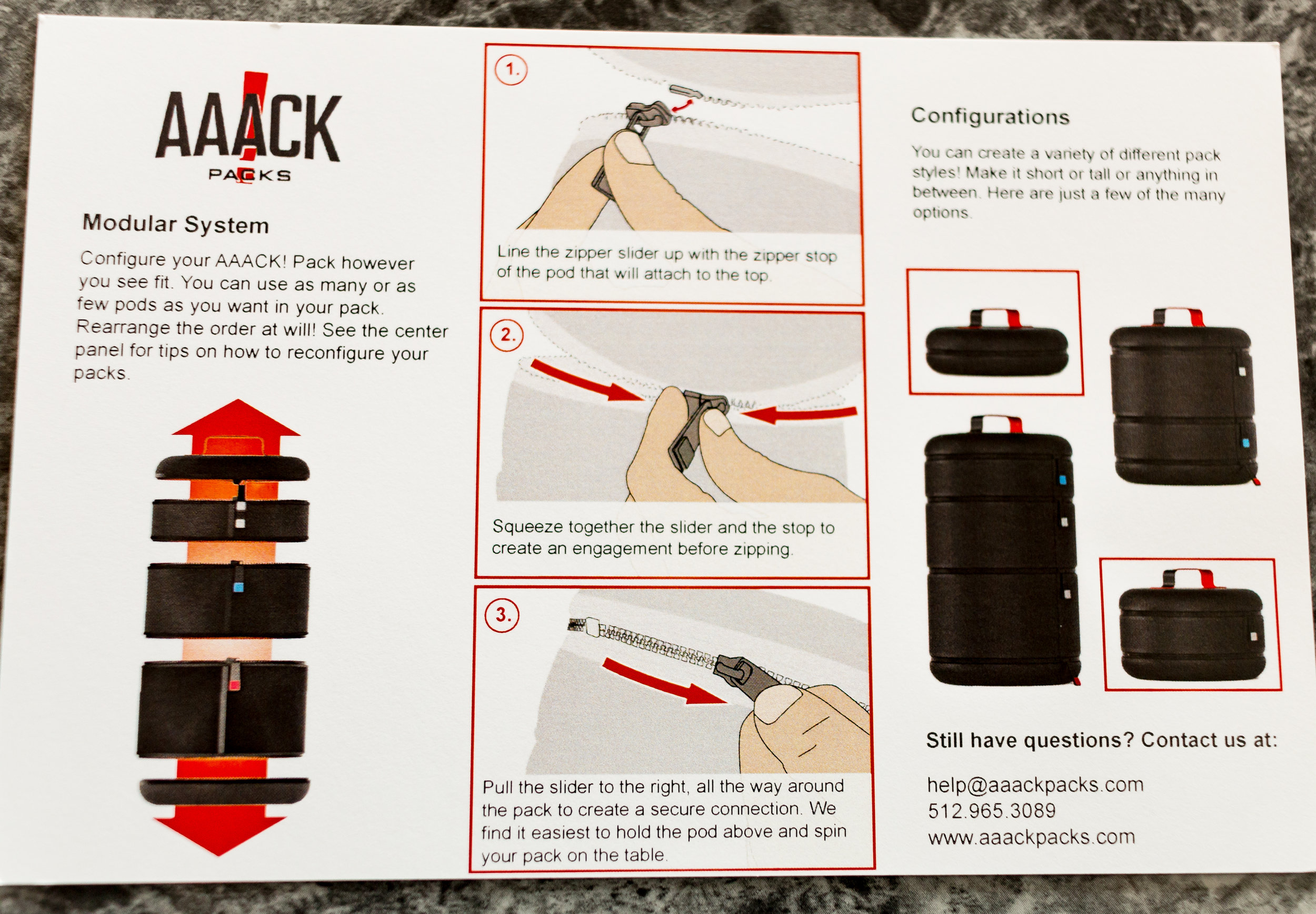 aaack-pack-instructions
