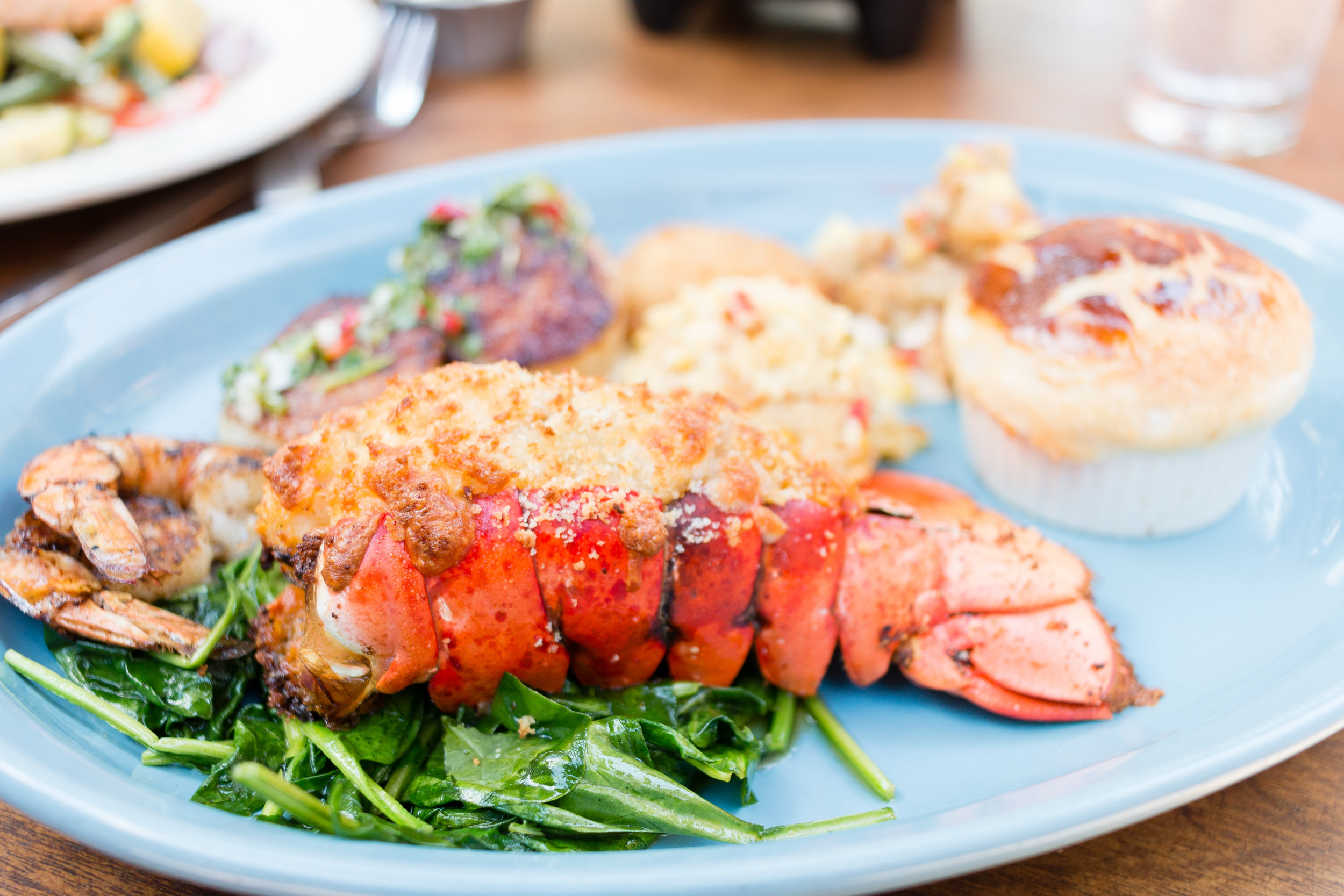Hey Mr. Lobster Tail!