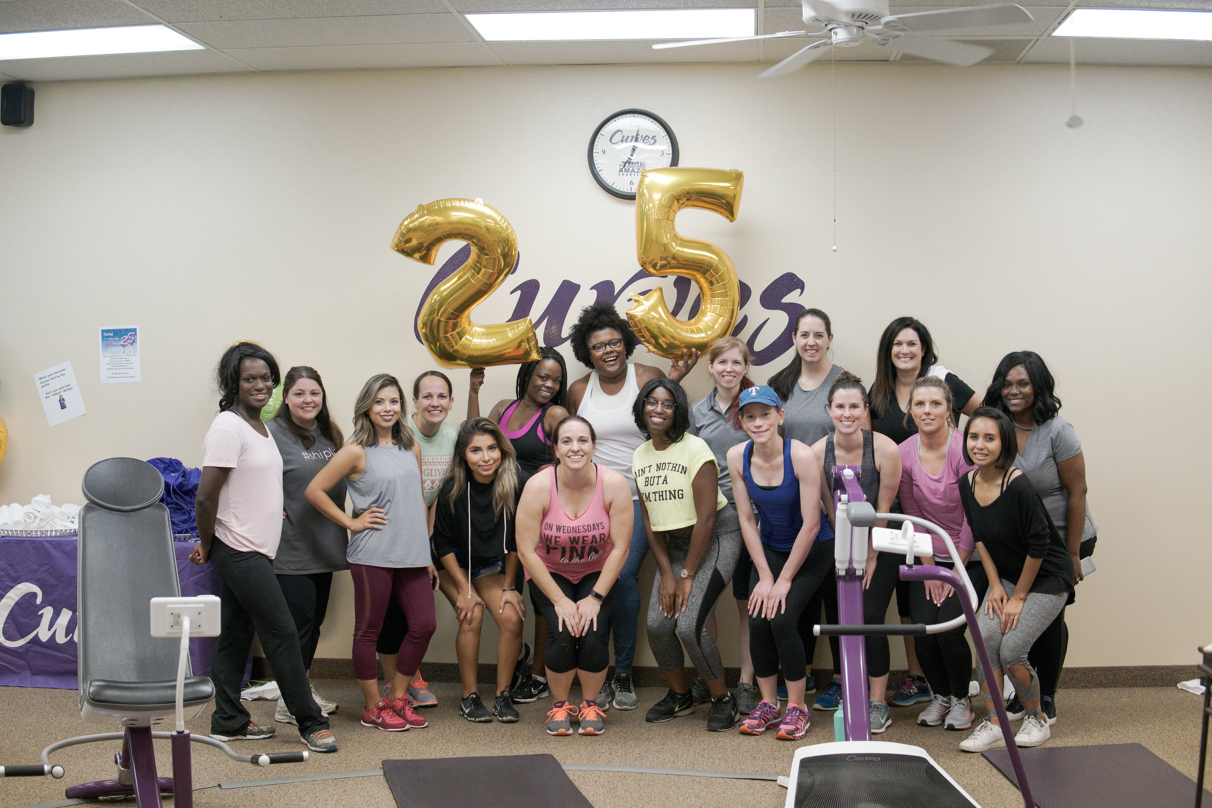 Happy 25th Curves!