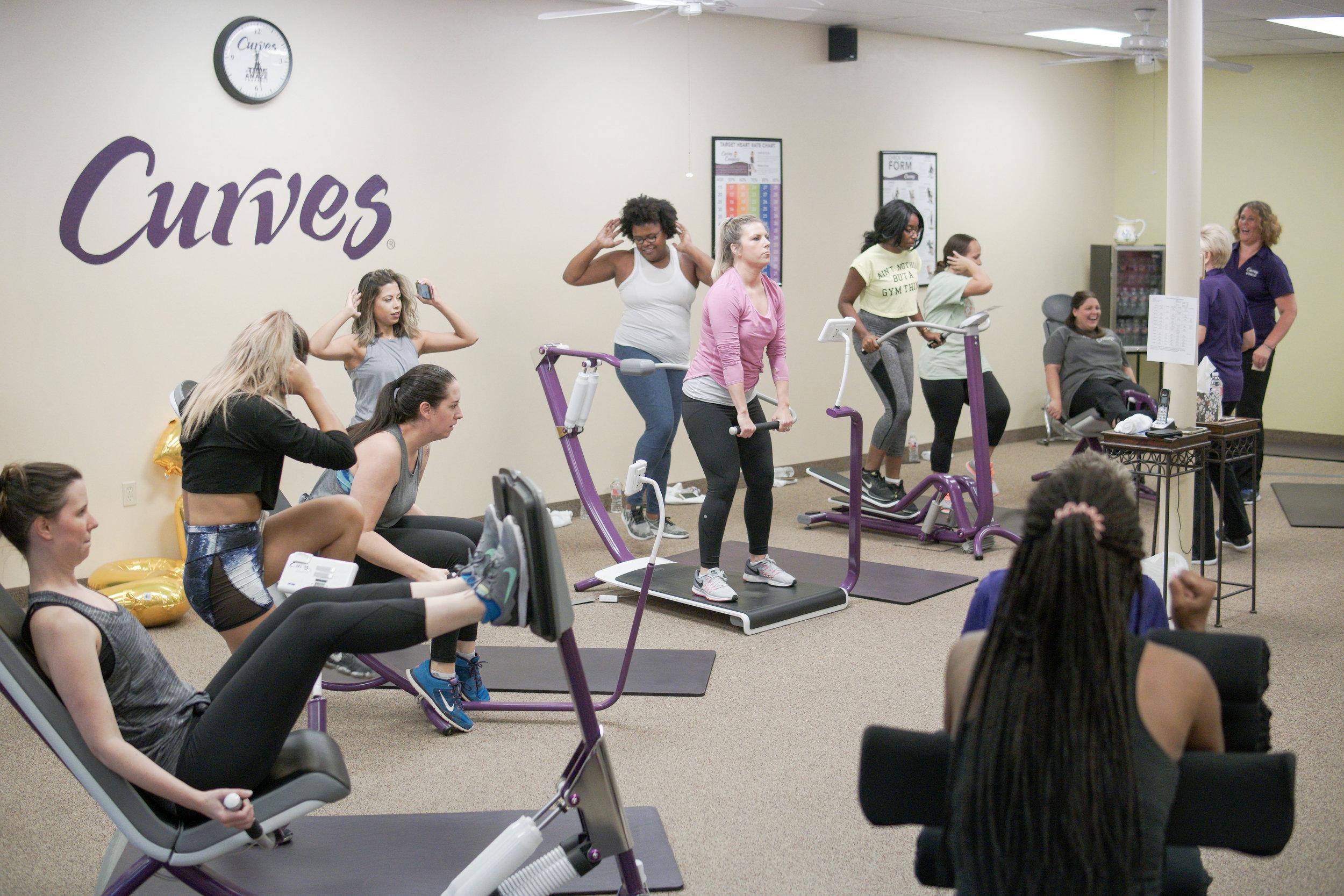 curves-circuit-workout-strength-training-setup