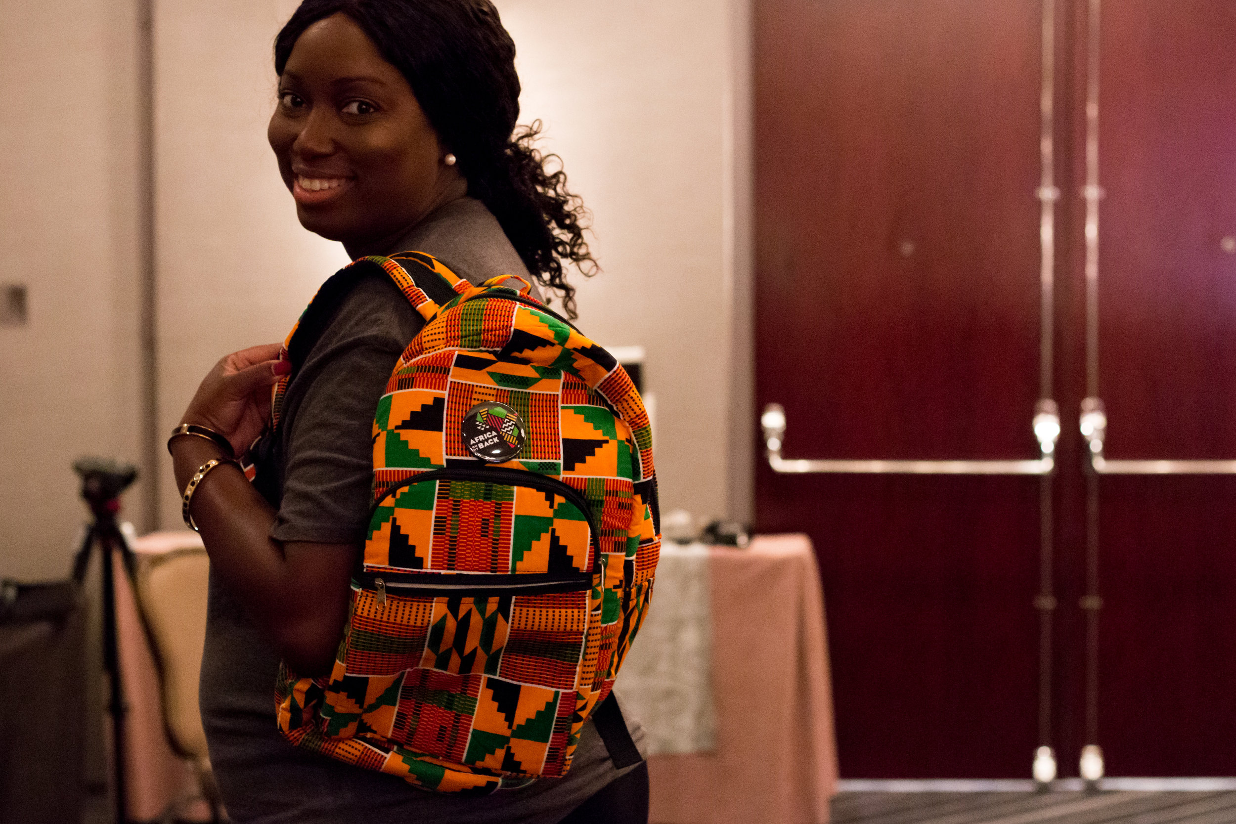 Africa On My Back, Backpack Giveaway Winner