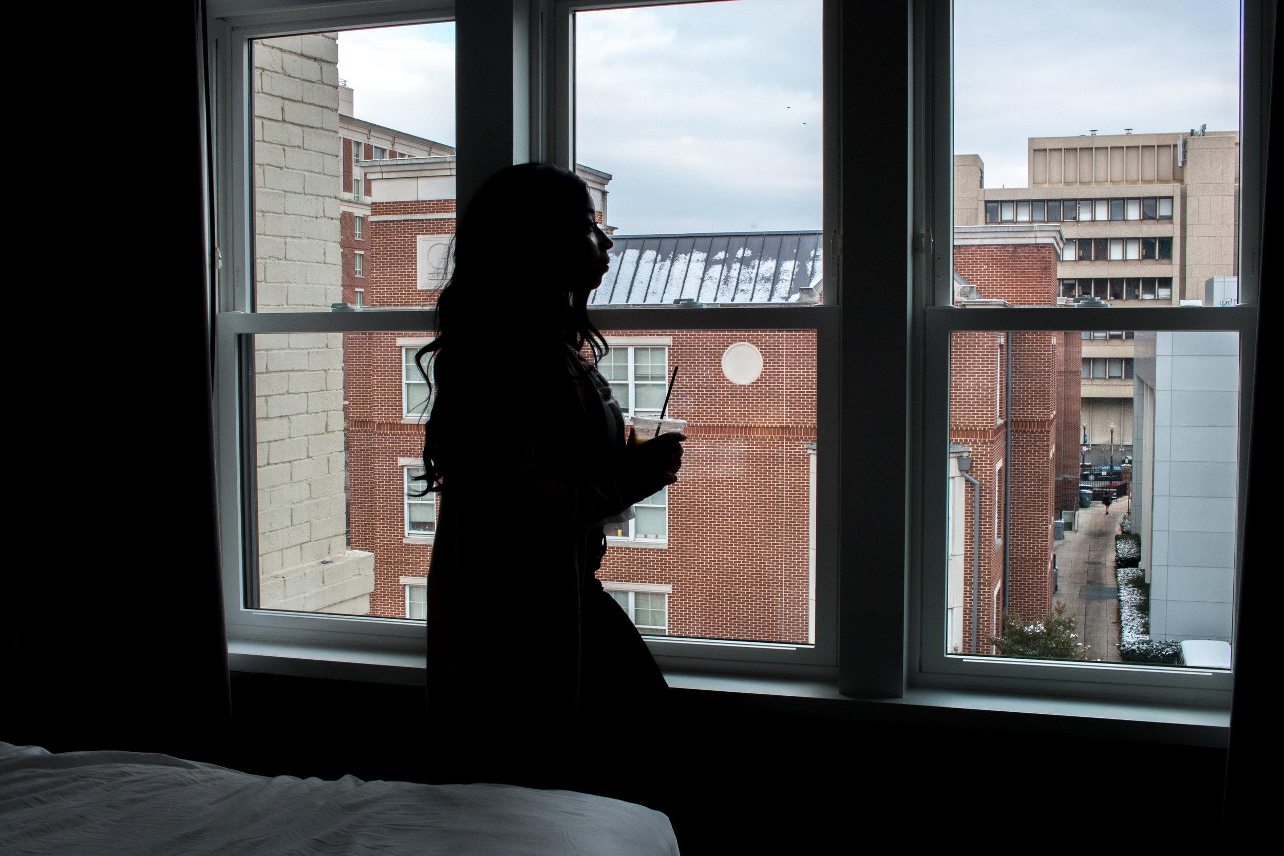 Hotel Room Facing GWU