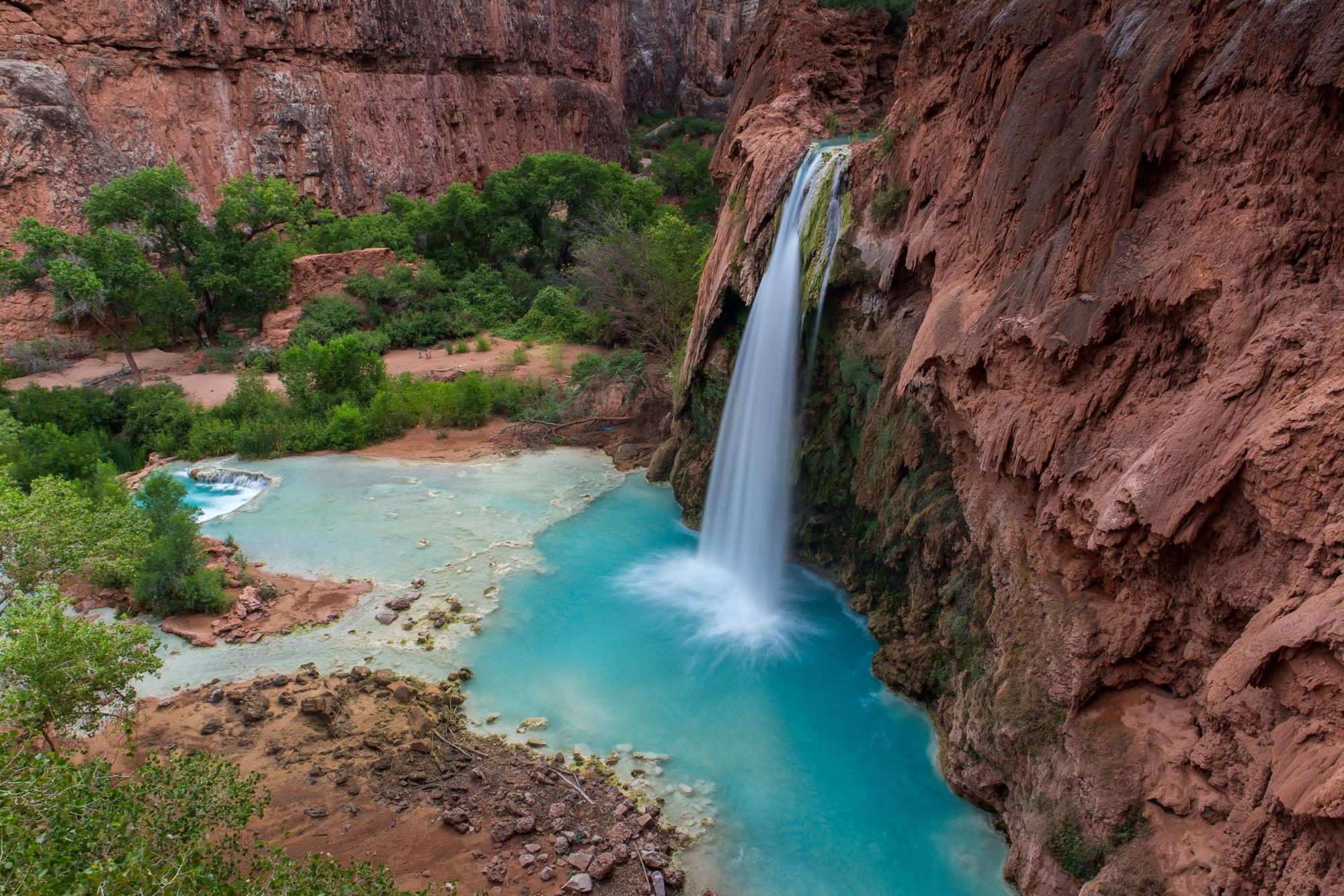 Havasu Falls at Grand Canyon National Park in Arizona. Credit: Jonathan Irish