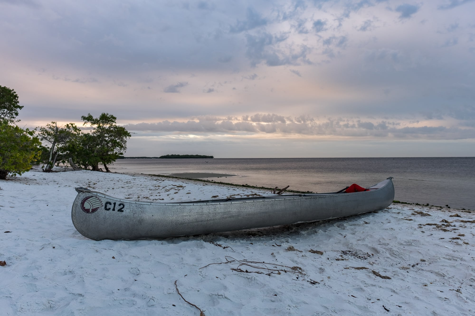 Our trusty canoe.