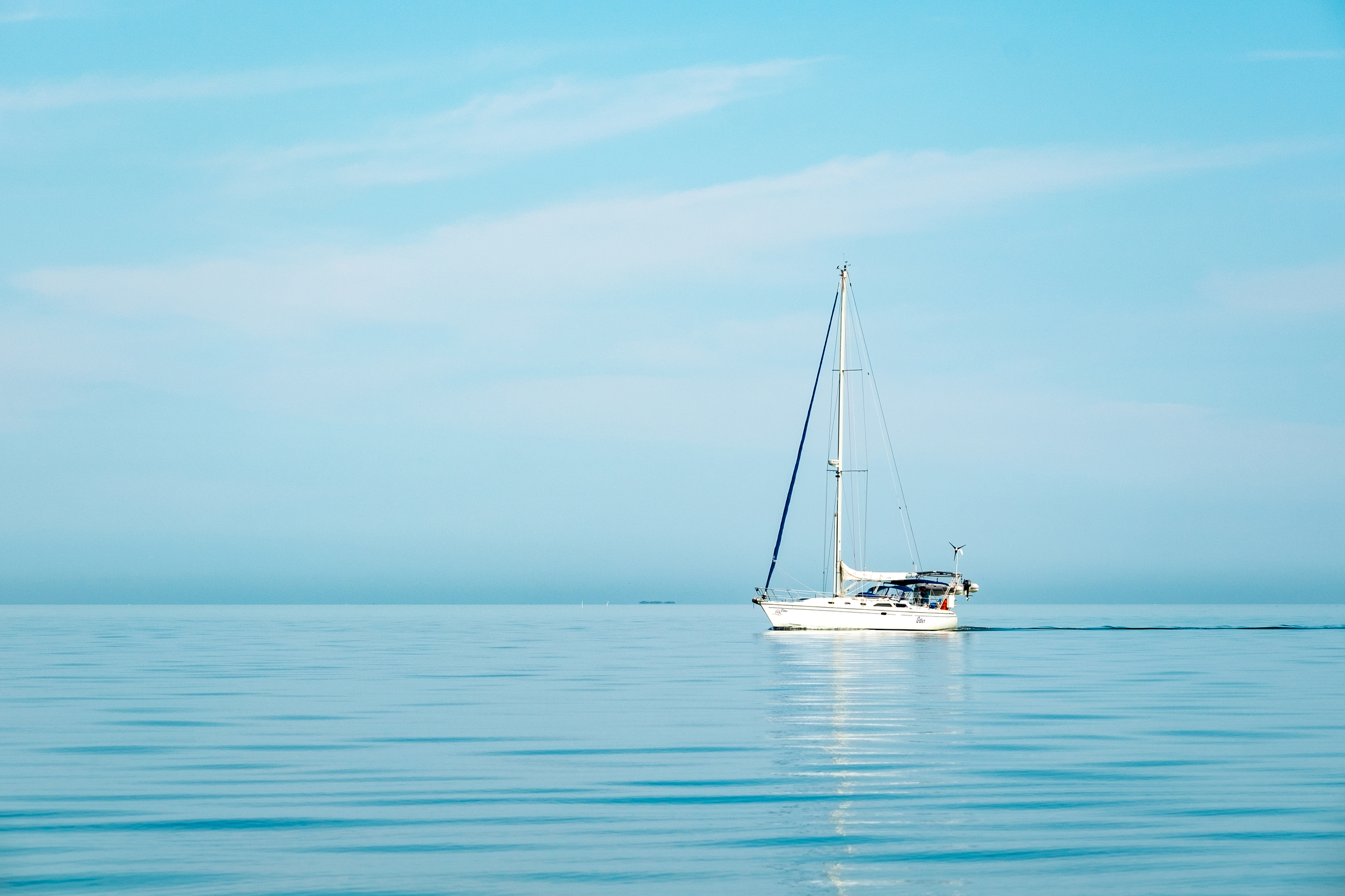 From small sailboats to large motor yachts, all kinds and sizes of boats take the trip to Boca Chita.