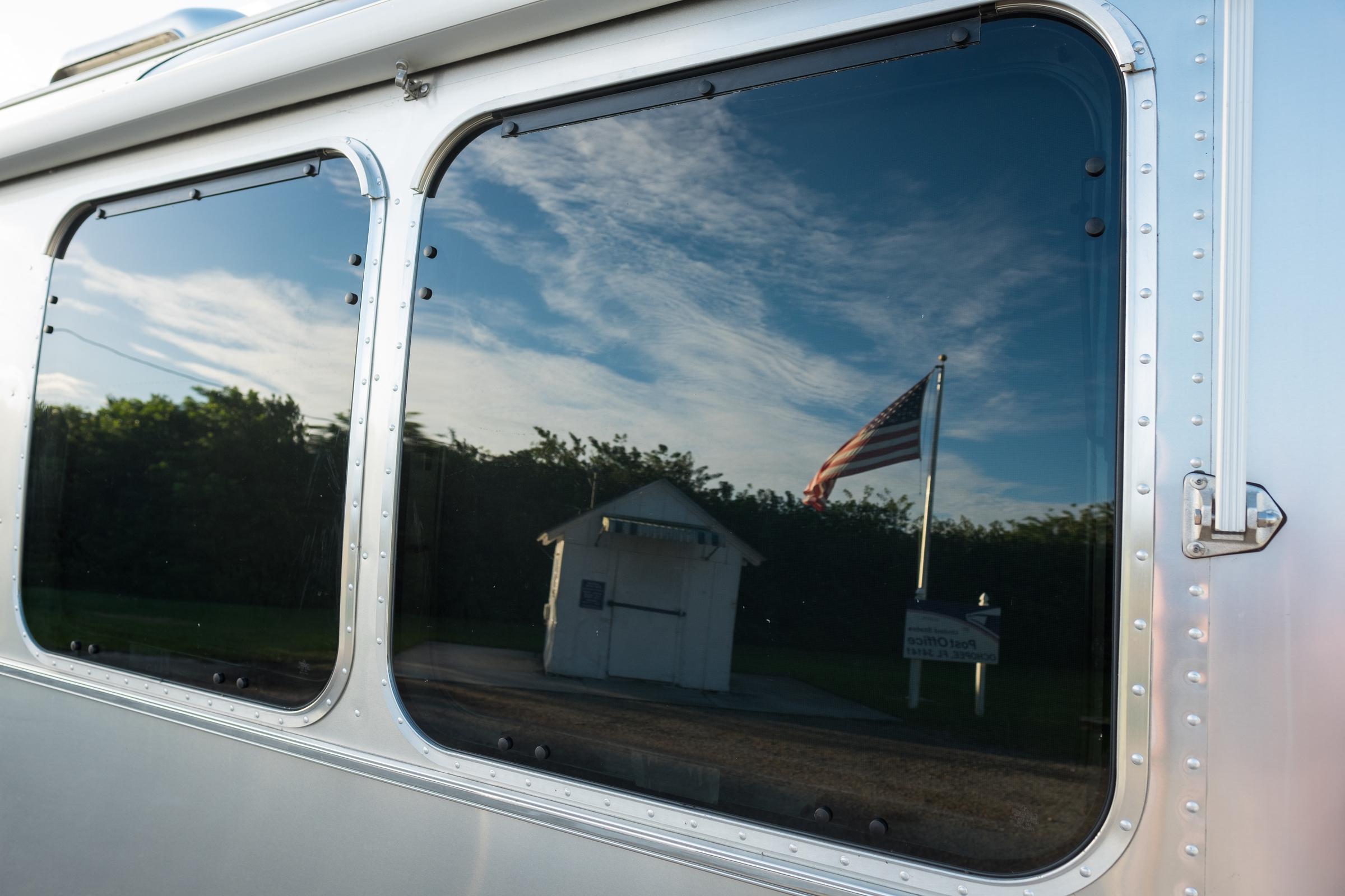 Airstream in Everglades National Park, Florida