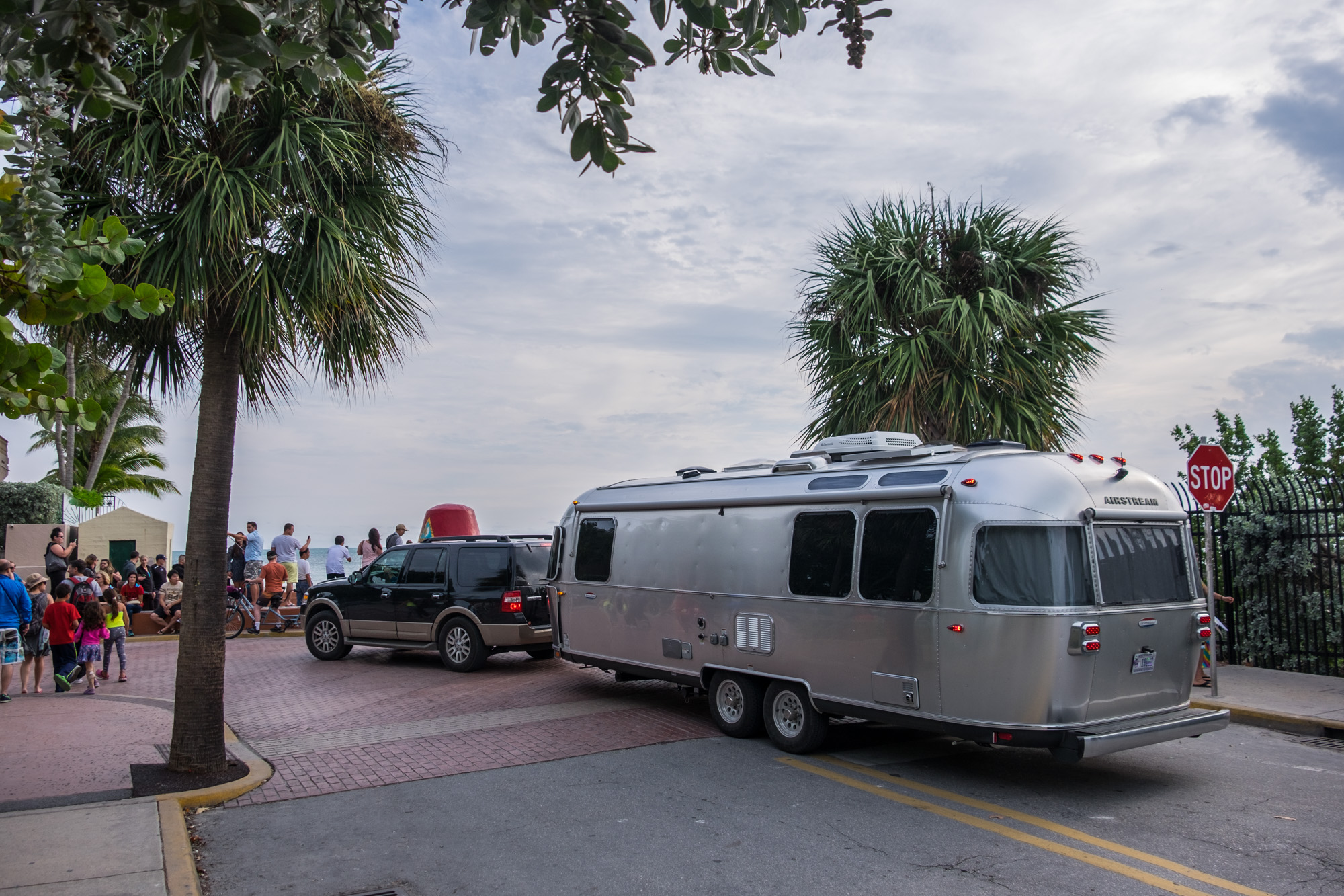 To get to Dry Tortugas, you need to go through Key West. And of course, we had to bring the Airstream to the (supposed) most southerly point in the U.S.
