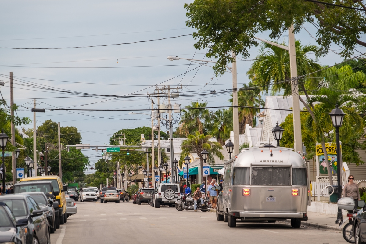 Airstream in Key West