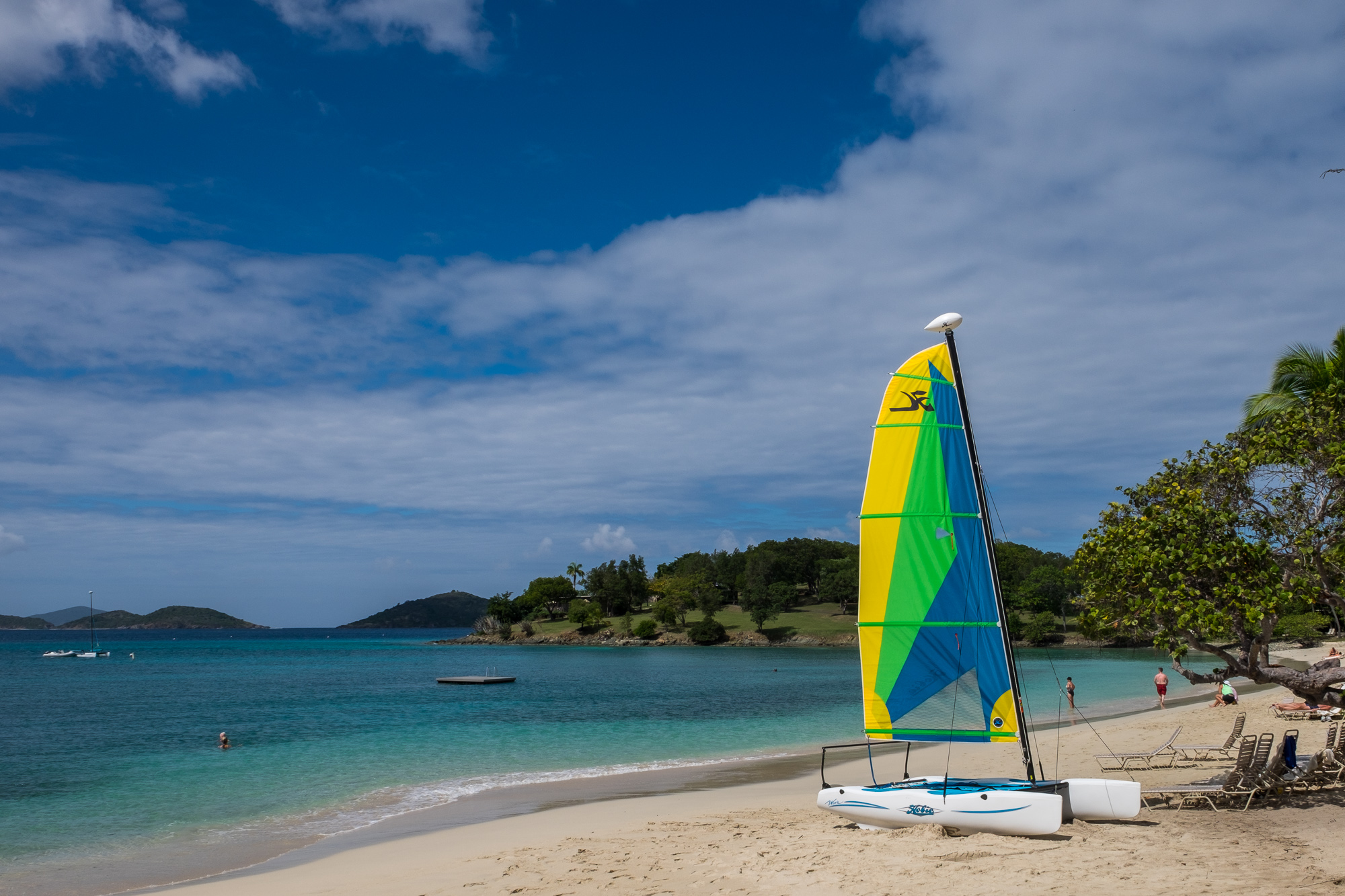 The Caneel Bay beaches were among the best on the island.