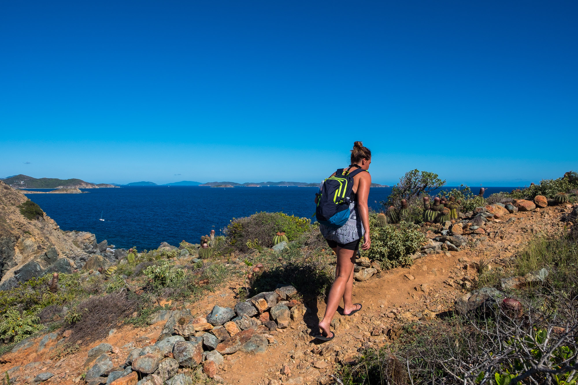 We hiked up to Ram Head lookout....a hot but beautiful hike.