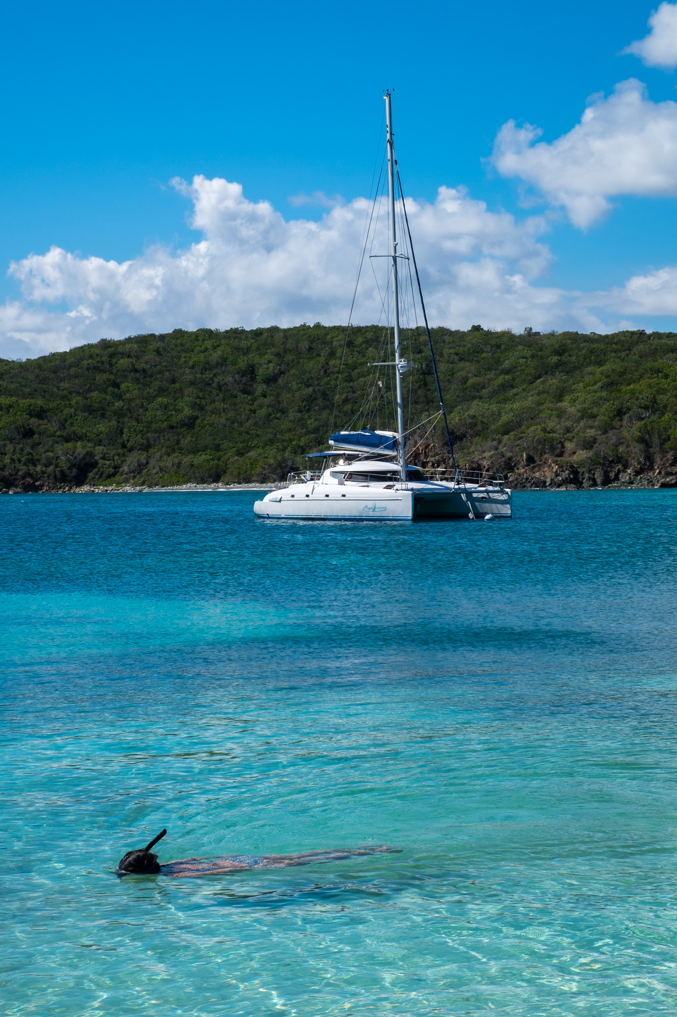The Saltpond Bay is an amazing place to go for a snorkel,