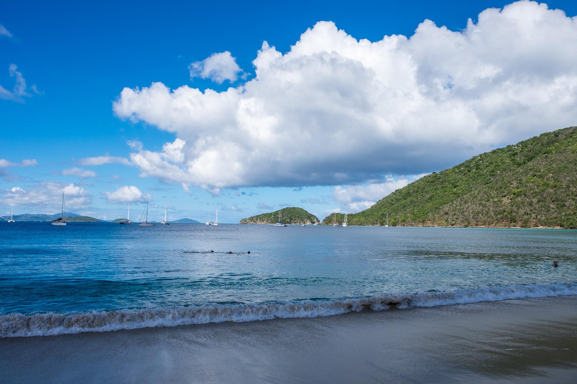 Beautiful beaches.