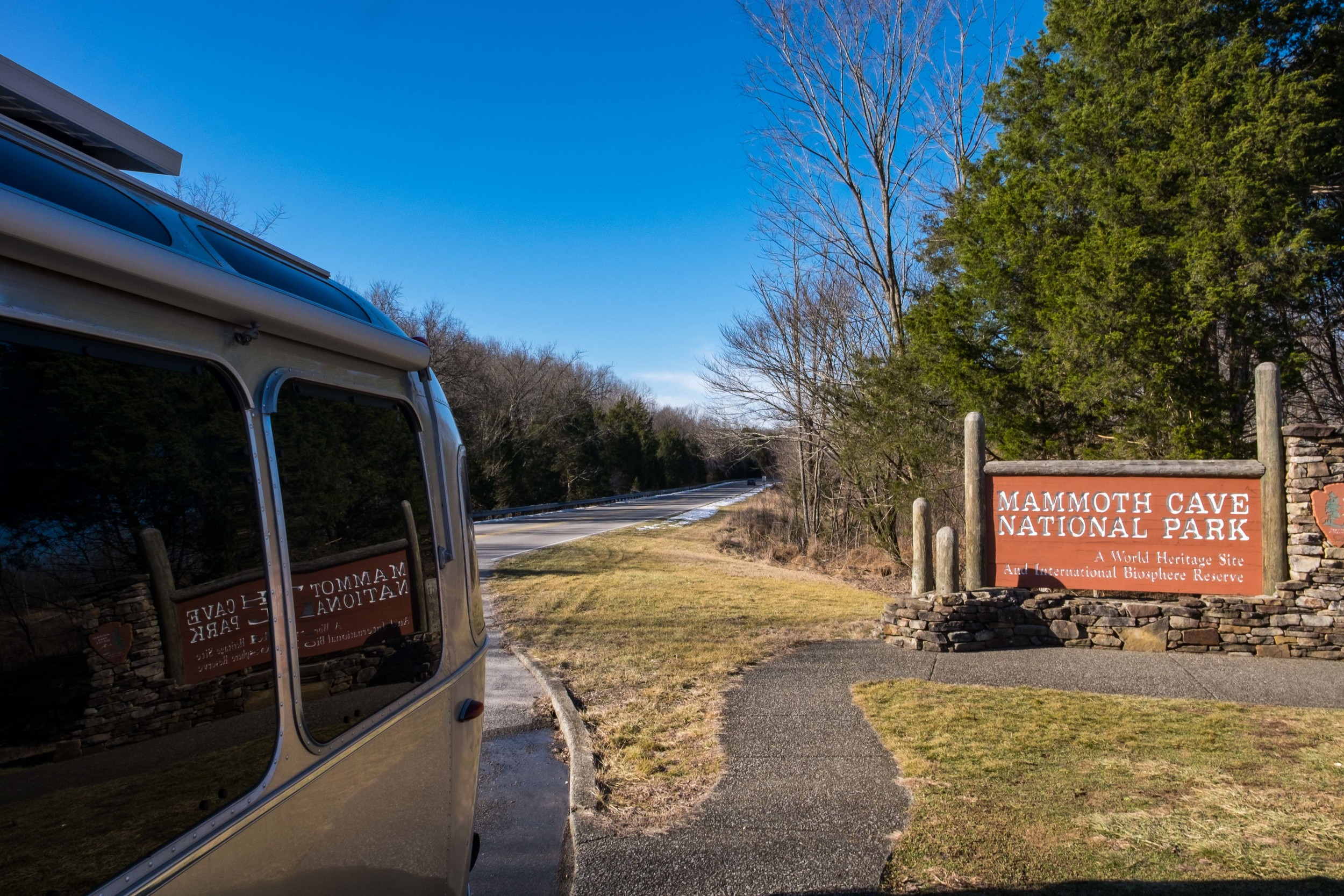 Goodbye Mammoth Cave! We really enjoyed our visit.....such an amazing place. It is truly a natural wonder. Onward!