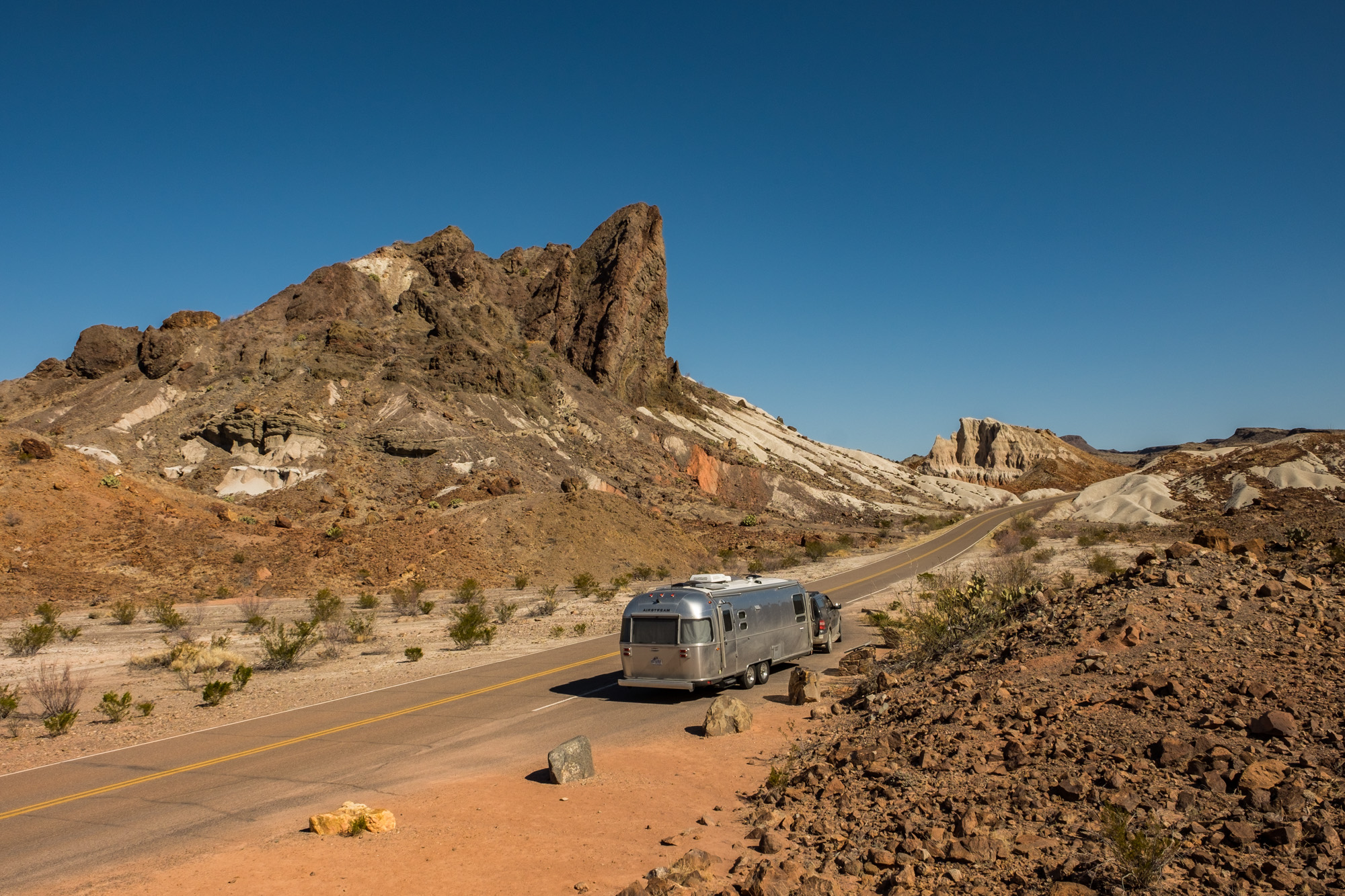 Wally (our Airstream) wanted to stop for the beautiful views.