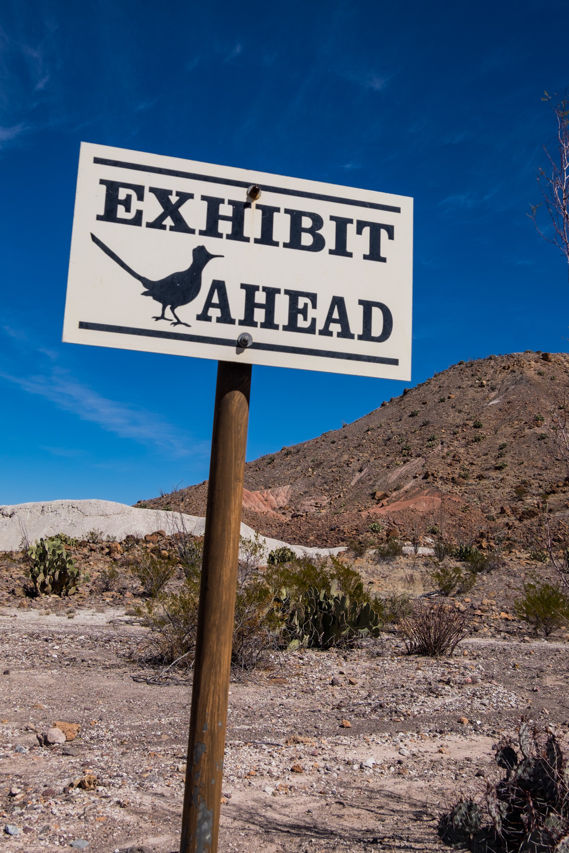 Nature Exhibits at Big Bend National Park.
