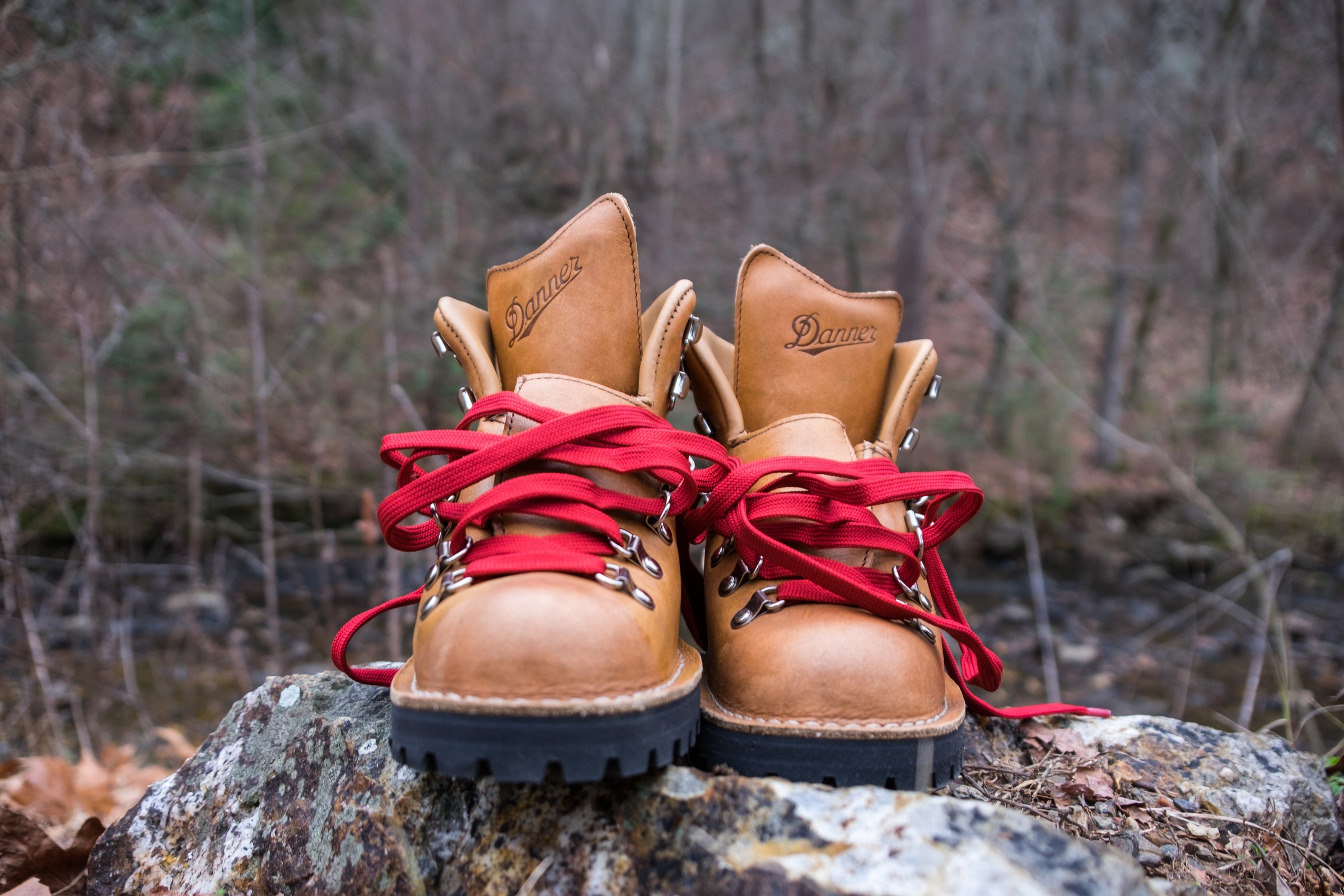 Breaking in New Hiking Boots — The
