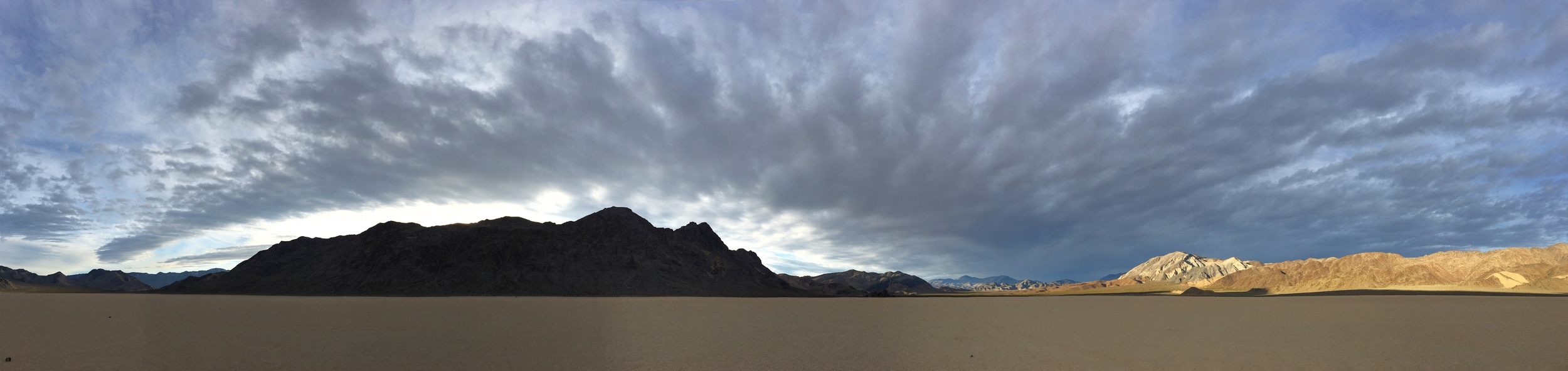 The Racetrack Playa at Death Valley National Park in California & Nevada.