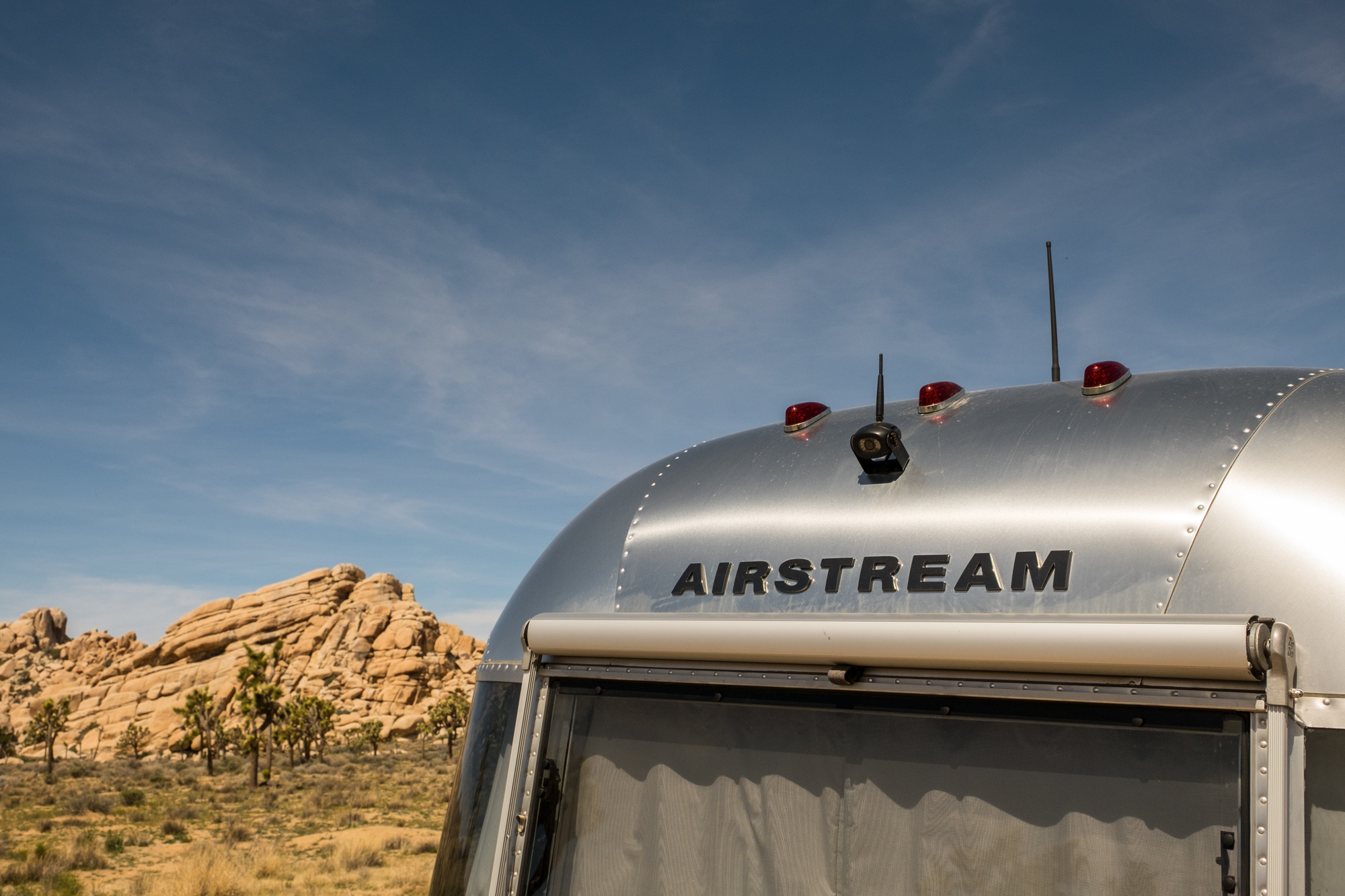 There's no better place to stay in Joshua Tree than in our beloved Airstream, Wally!