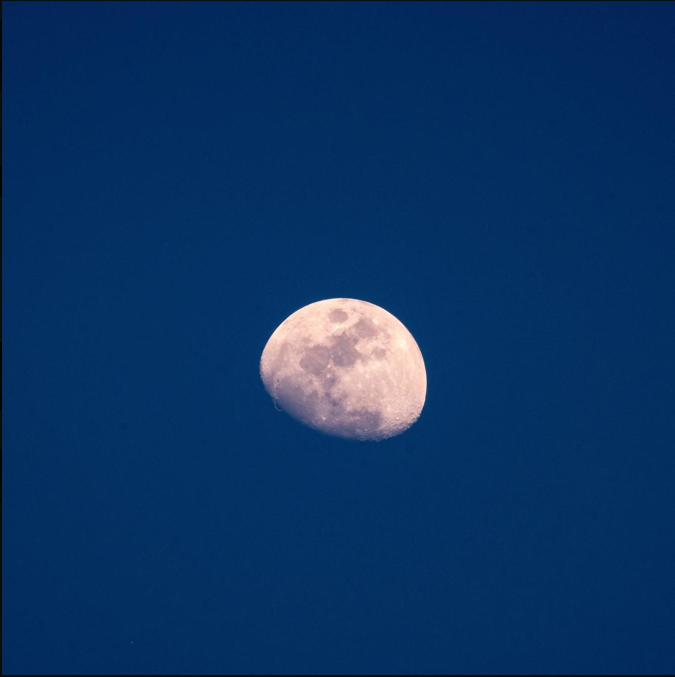 An epic moon shot taken in California's Joshua Tree -- no zoom! Just an awesome Fujifilm 100-400 lens. Epic.