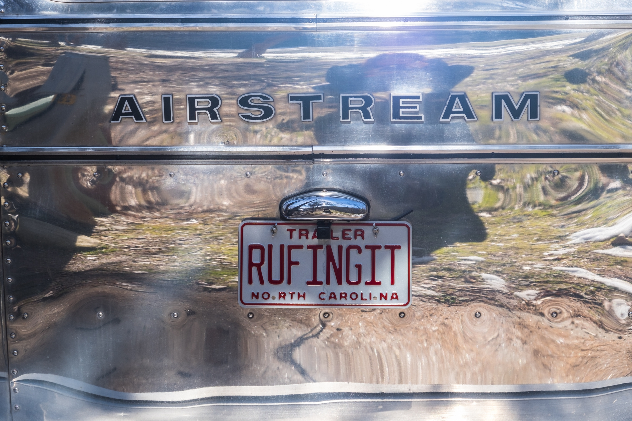 Pimped out Airstreams abound in this country. We found this restored 1970s beauty at the Great Smoky Mountains (and some cool Airstream Caravan friends too!)