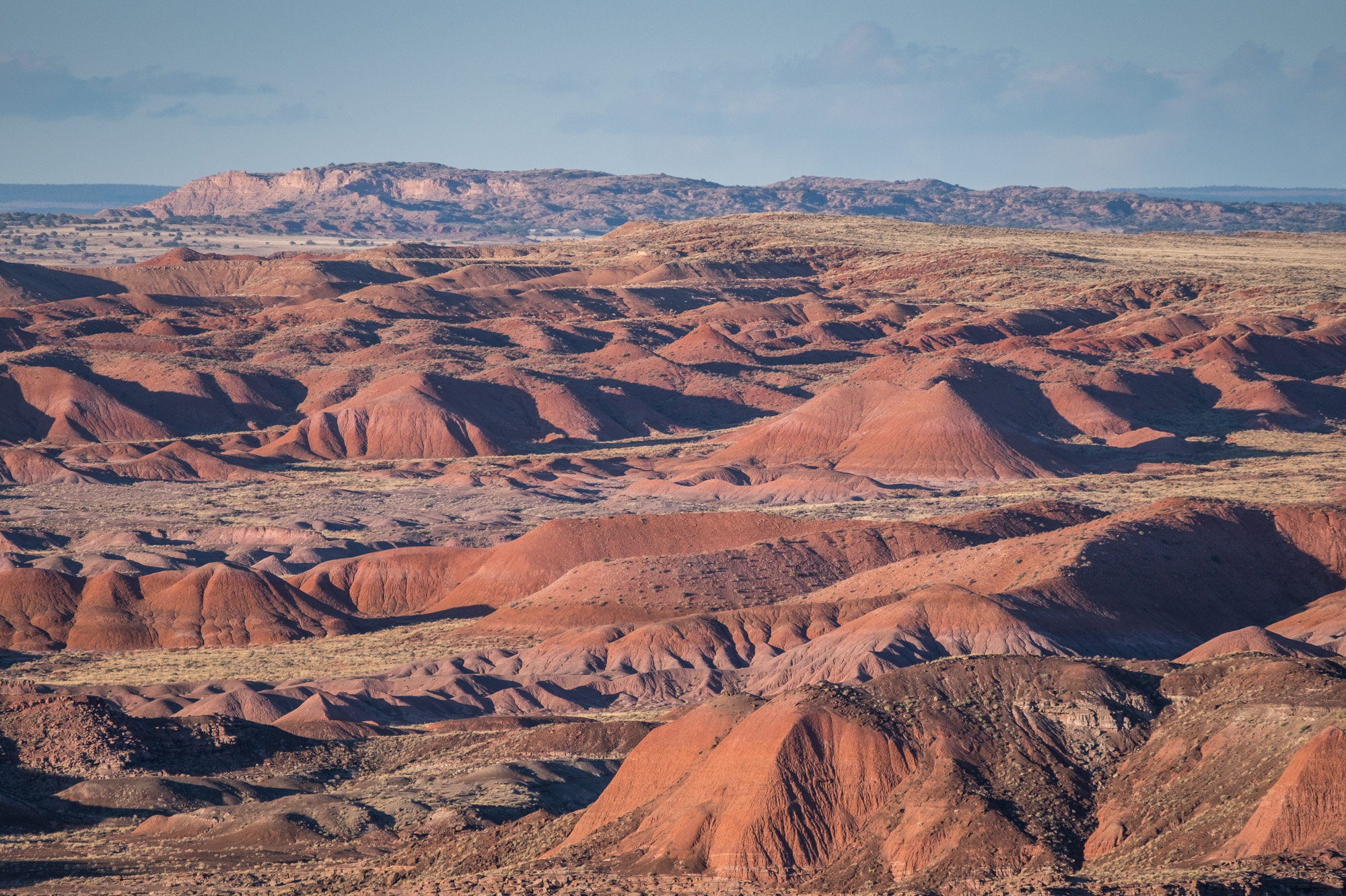 The famed Painted Desert.