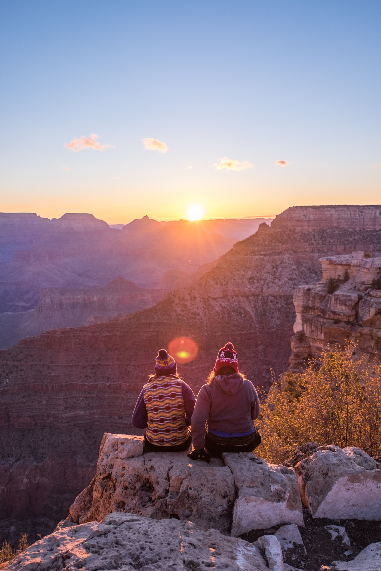 Everyone comes to the canyon and experiences it in their own way, and often, with a friend.