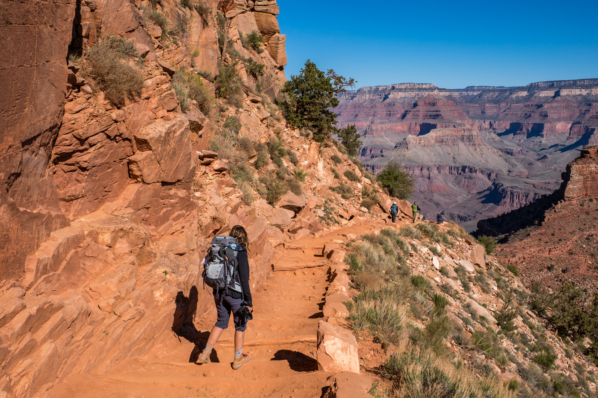 Stef heads down the South Kaibab trail in search of the canyons deepest, darkest secrets...