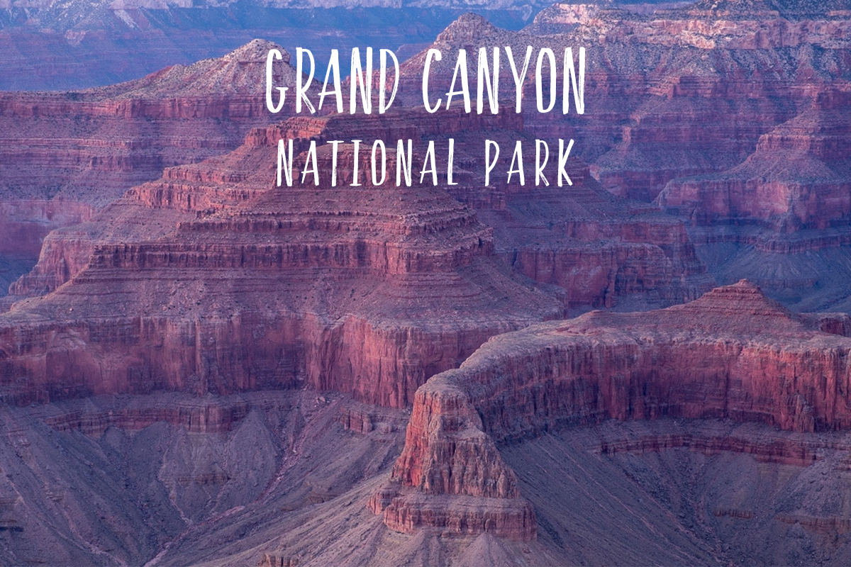 Park 18/59: Grand Canyon National Park in Arizona.