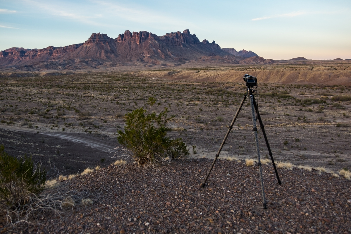 Fujifilm X-T1 in Big Bend National Park in Texas.