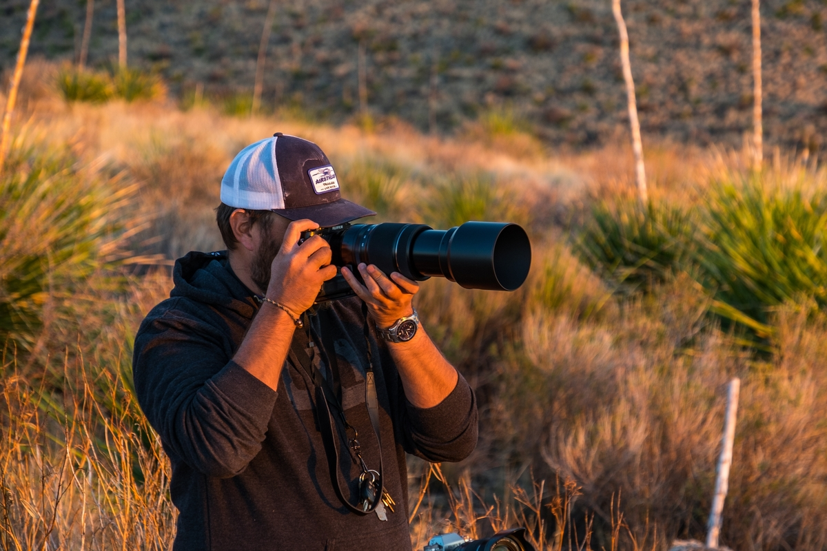 Jon takes his first shot with the  Fujifilm  XF 100-400mm F4.5-5.6 lens capturing the Big Bend sunset in Texas.
