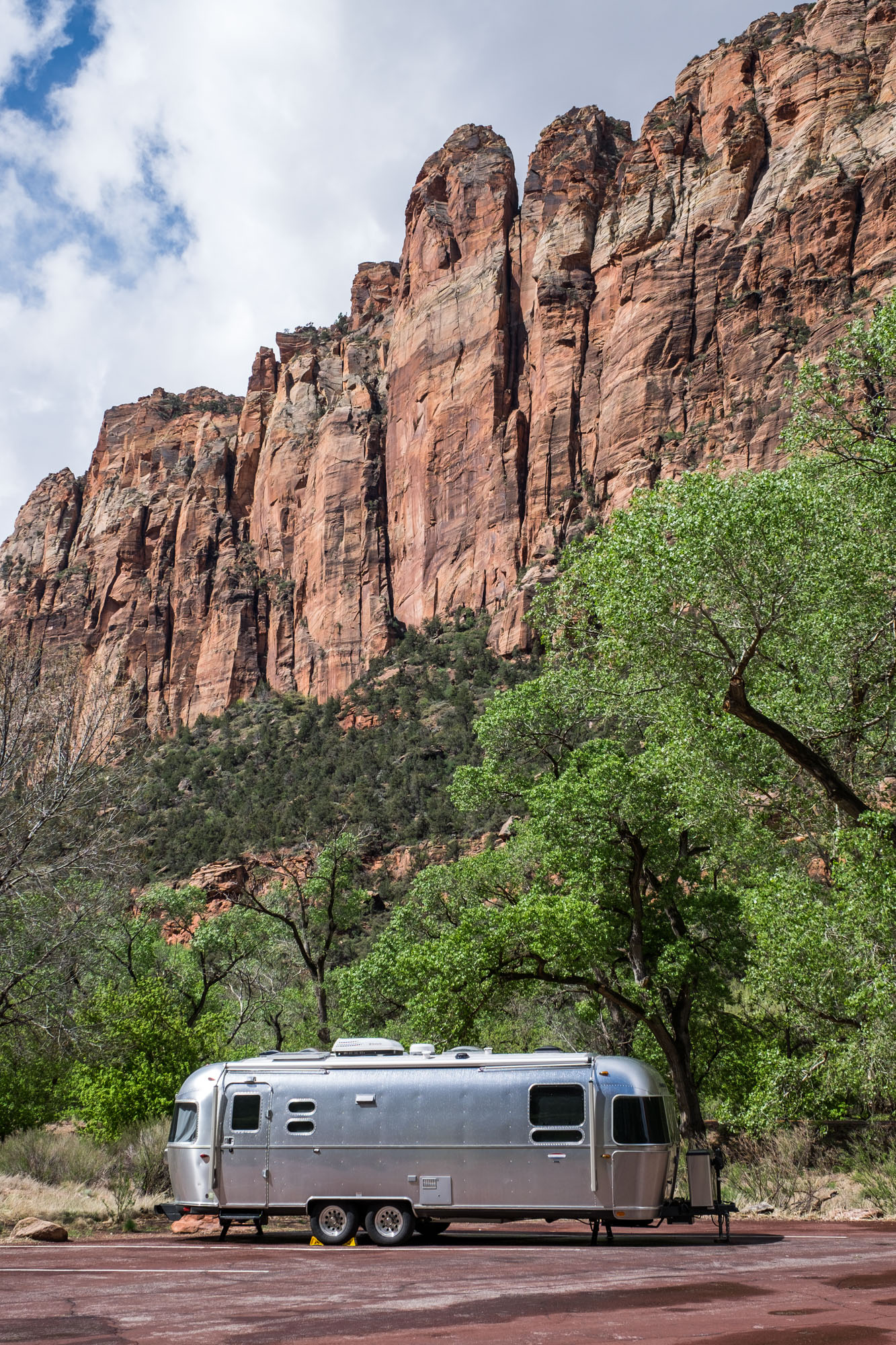 Wally looks very happy in the Zion valley.