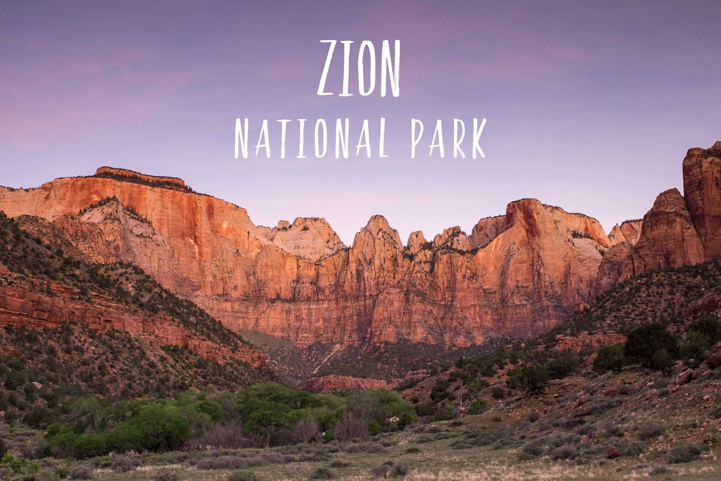 Park 19/59: Zion National Park in Utah